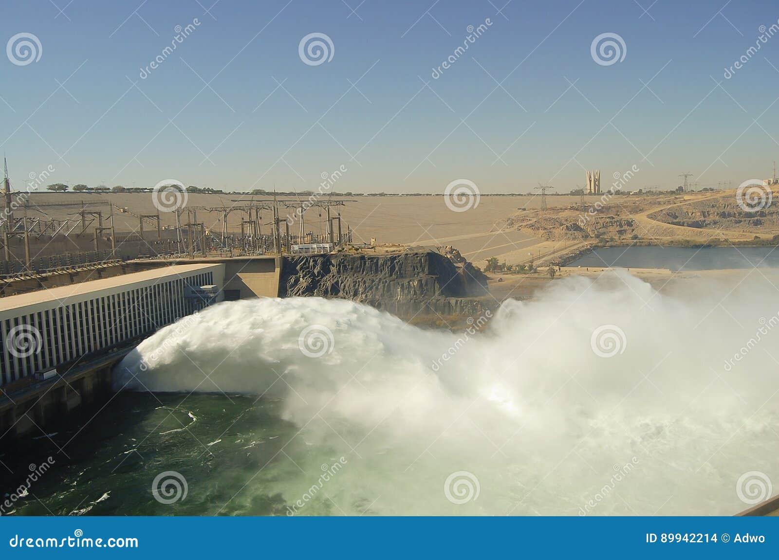 Assuandamm - Assuan - Ägypten