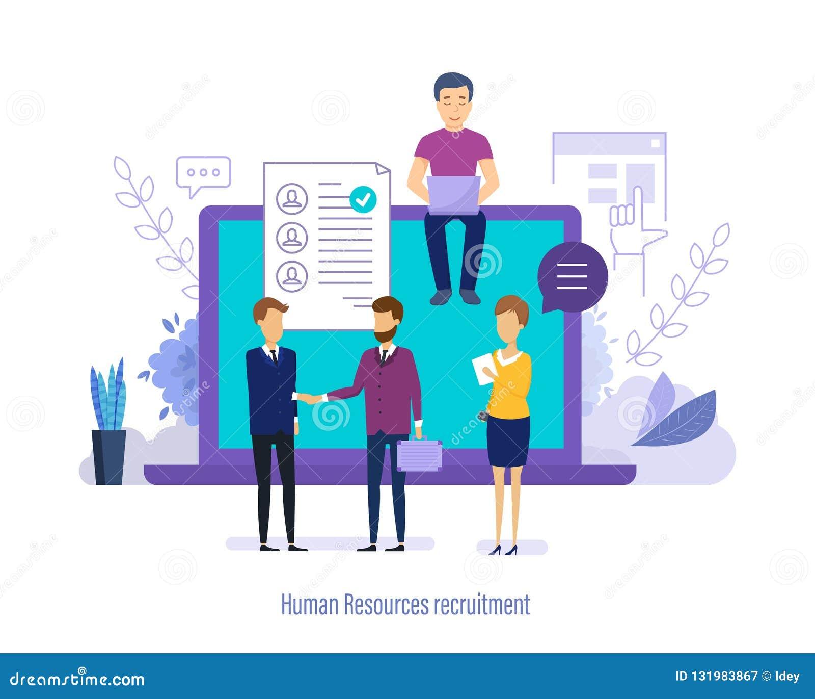 Assunzione della risorsa umana Personale di ricerca, selezione, riassunto di studio, lavoro di squadra