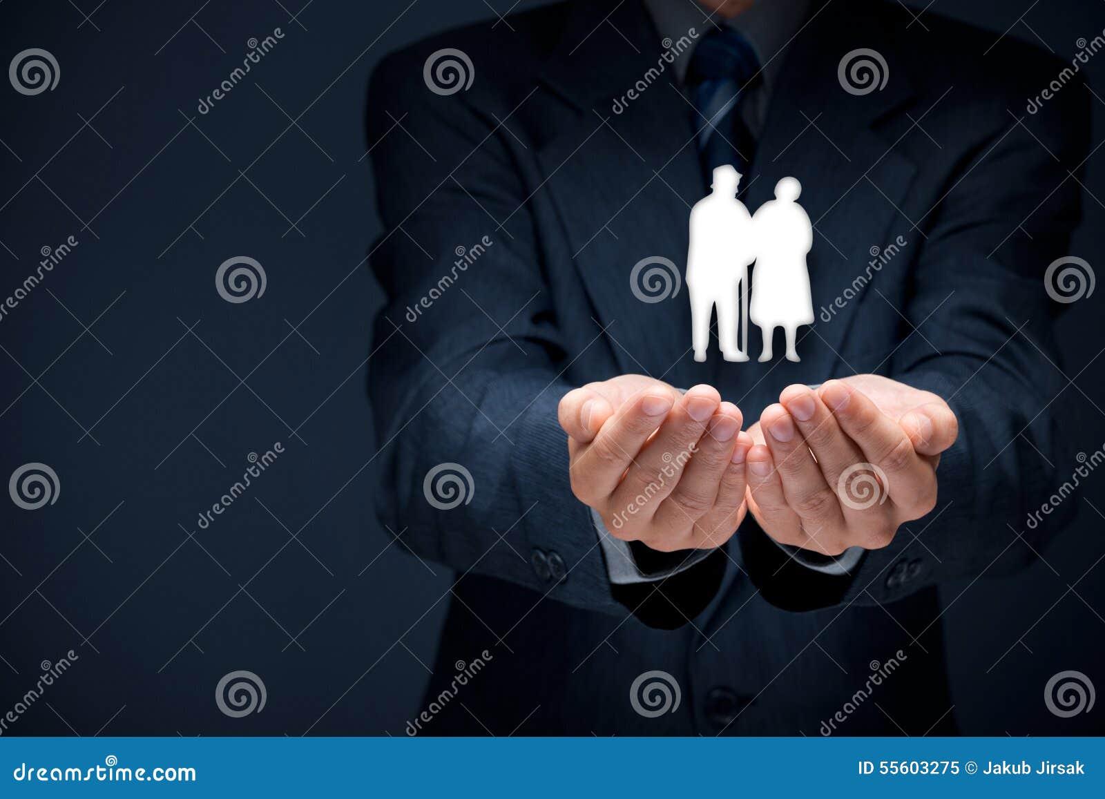 Assurance et aînés de pension