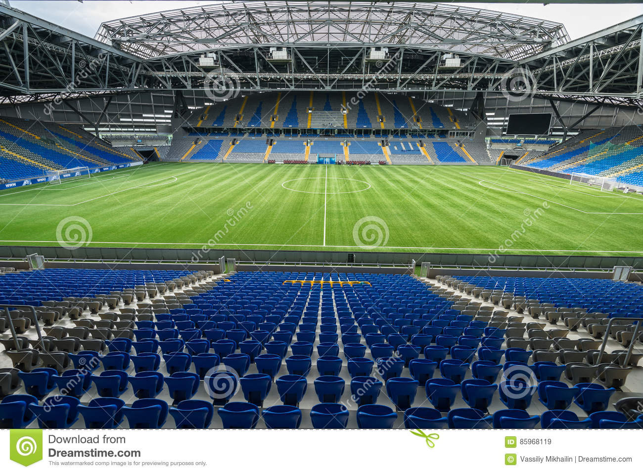 Astana-Arena 2 editorial stock image. Image of large ...