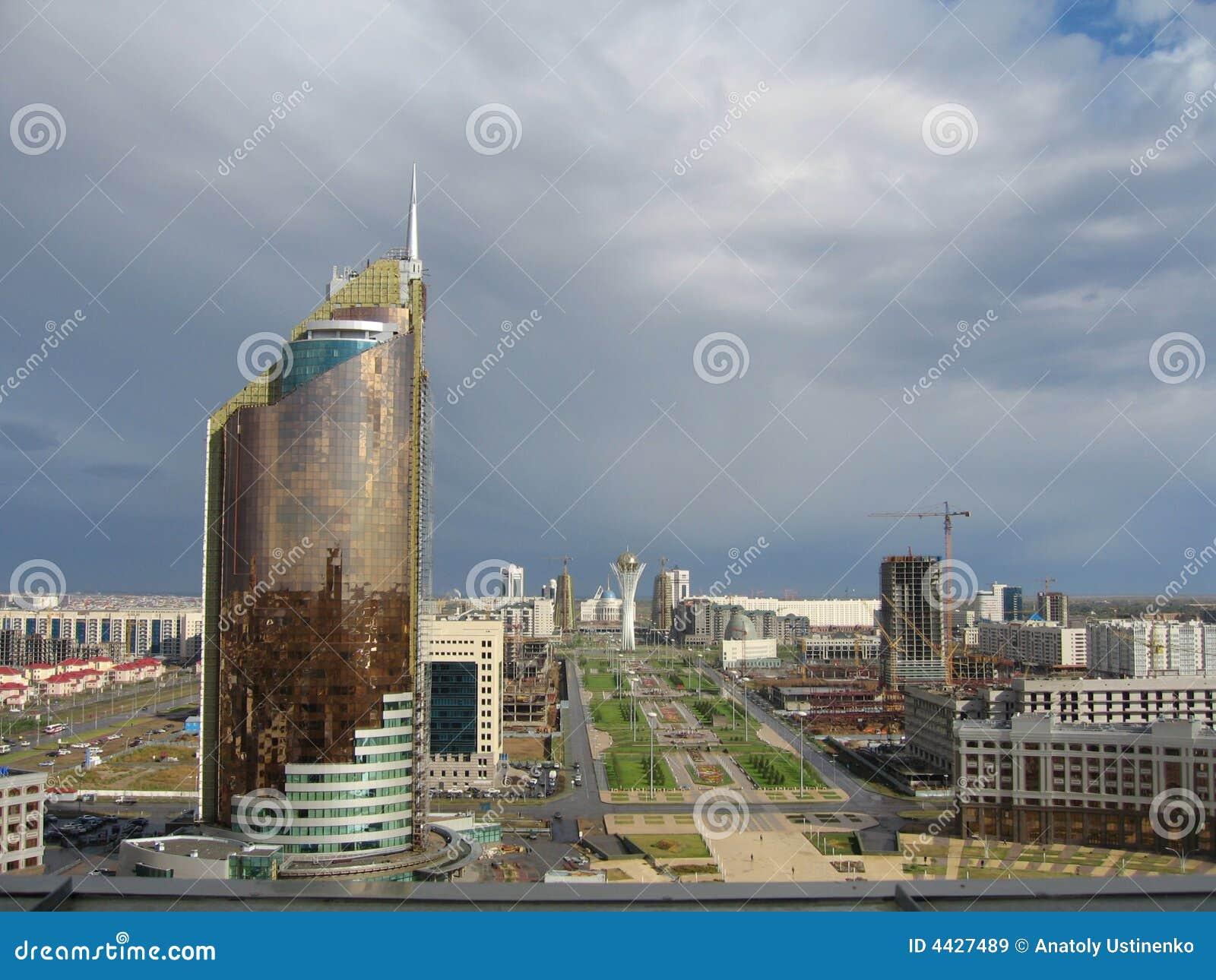 Astana-Stadt. Panorama