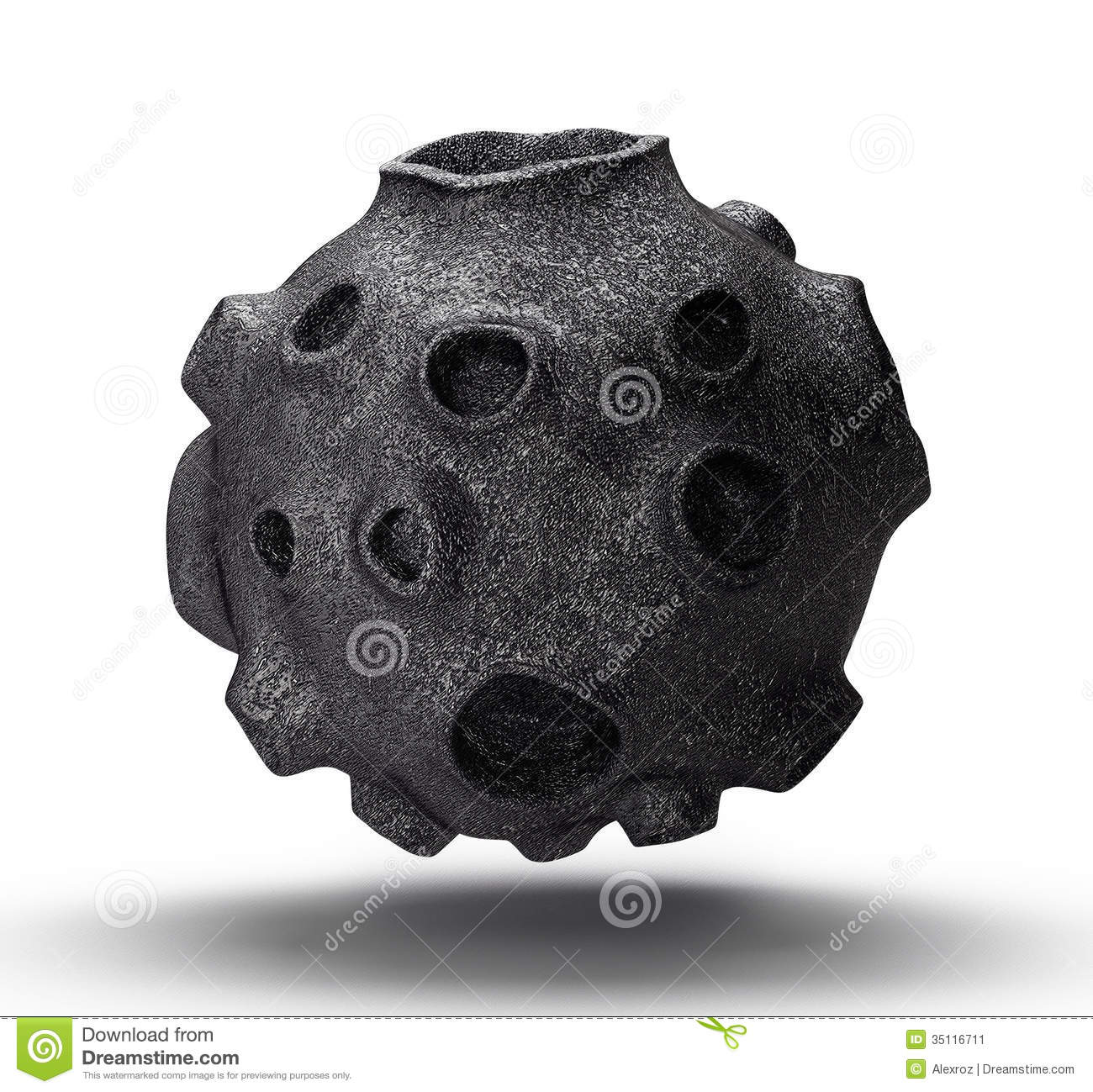 Asteroid Rocks Clip Art