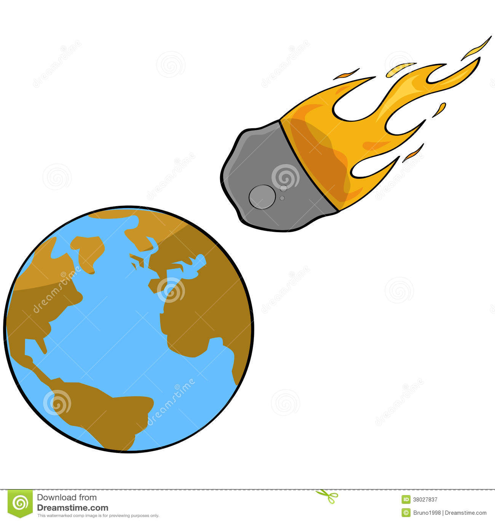 asteroid collision stock illustrations 617 asteroid collision rh dreamstime com