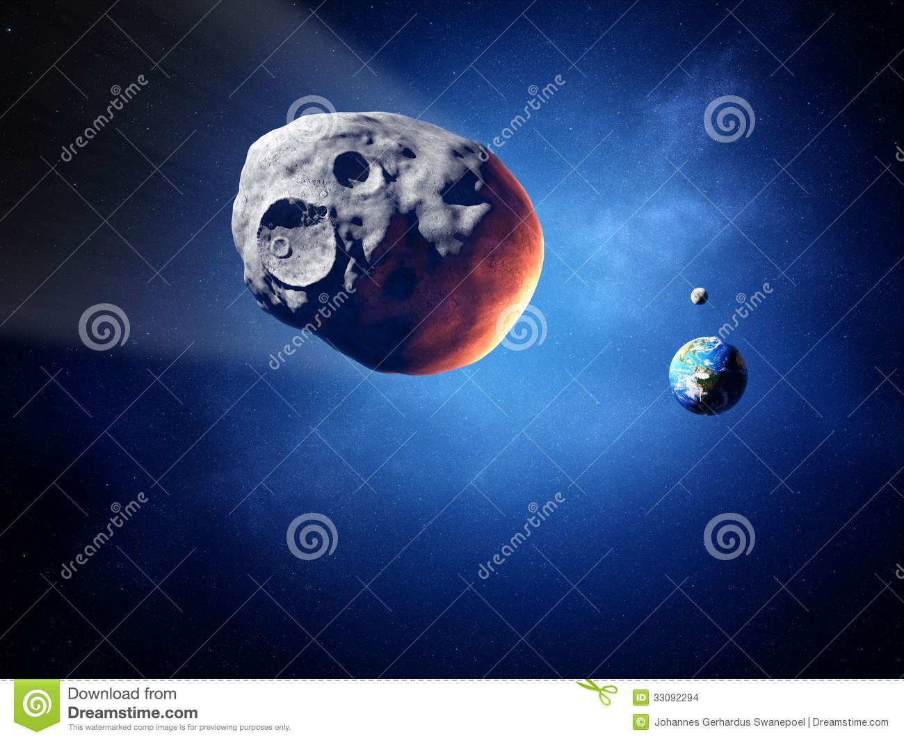 asteroid earth collisions - photo #40
