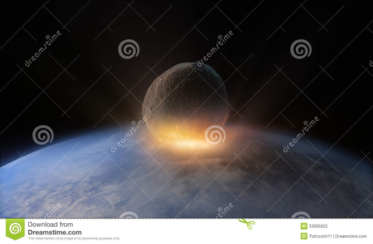asteroid earth collisions - photo #17