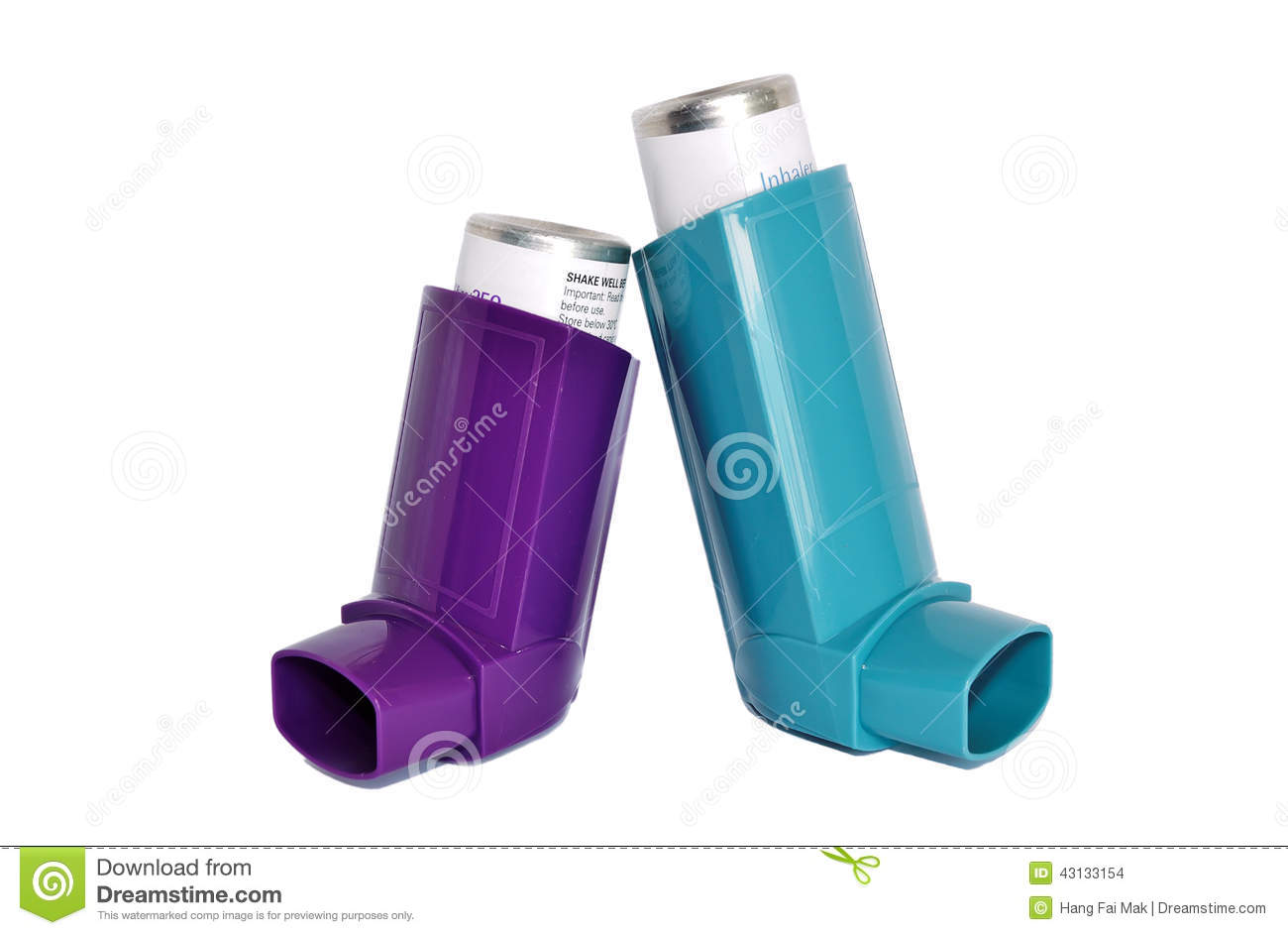 Asthma Inhalers Stock Photo  Image Of Puffer  Bronchitis