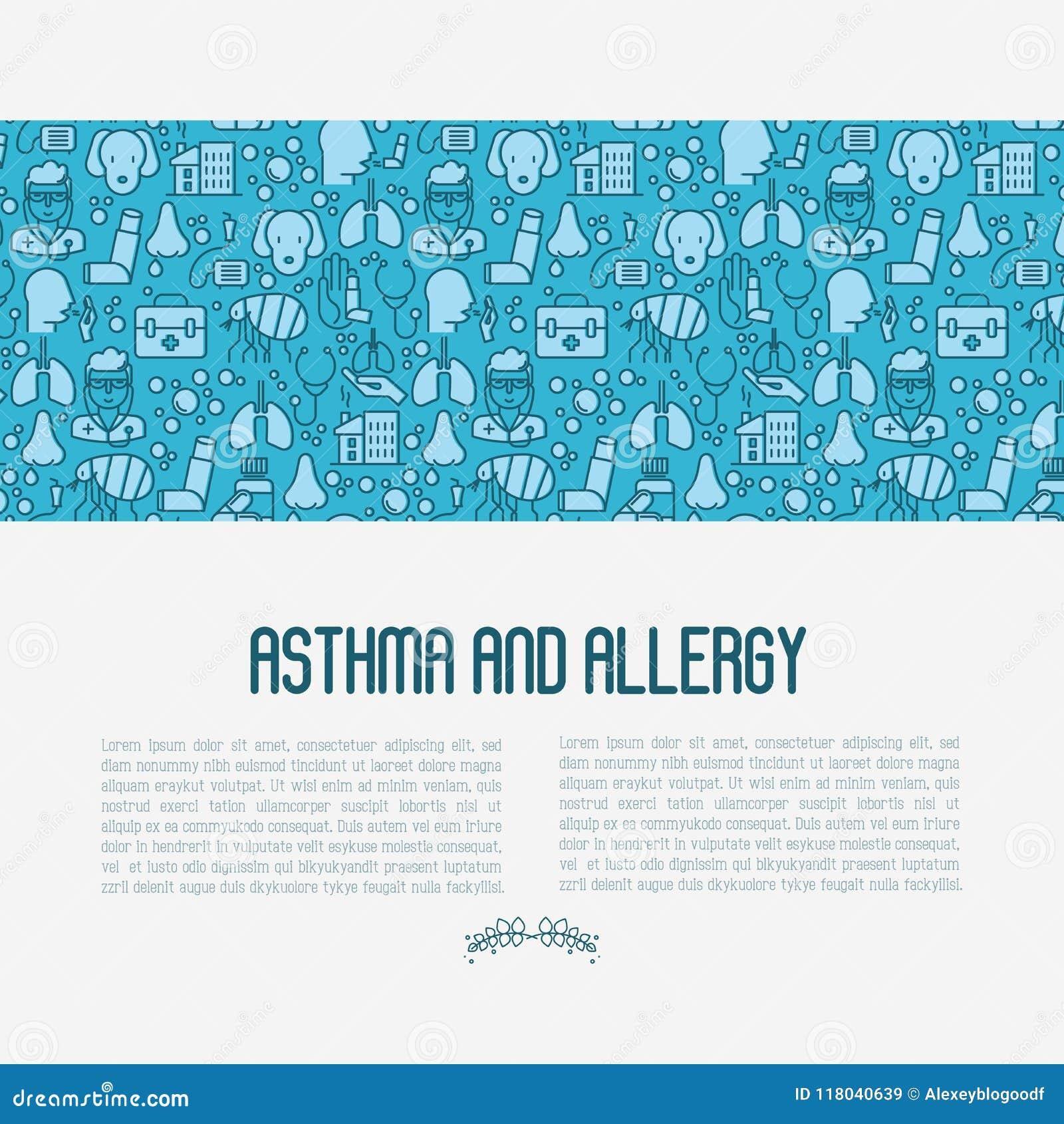 Astma- och allergibegrepp