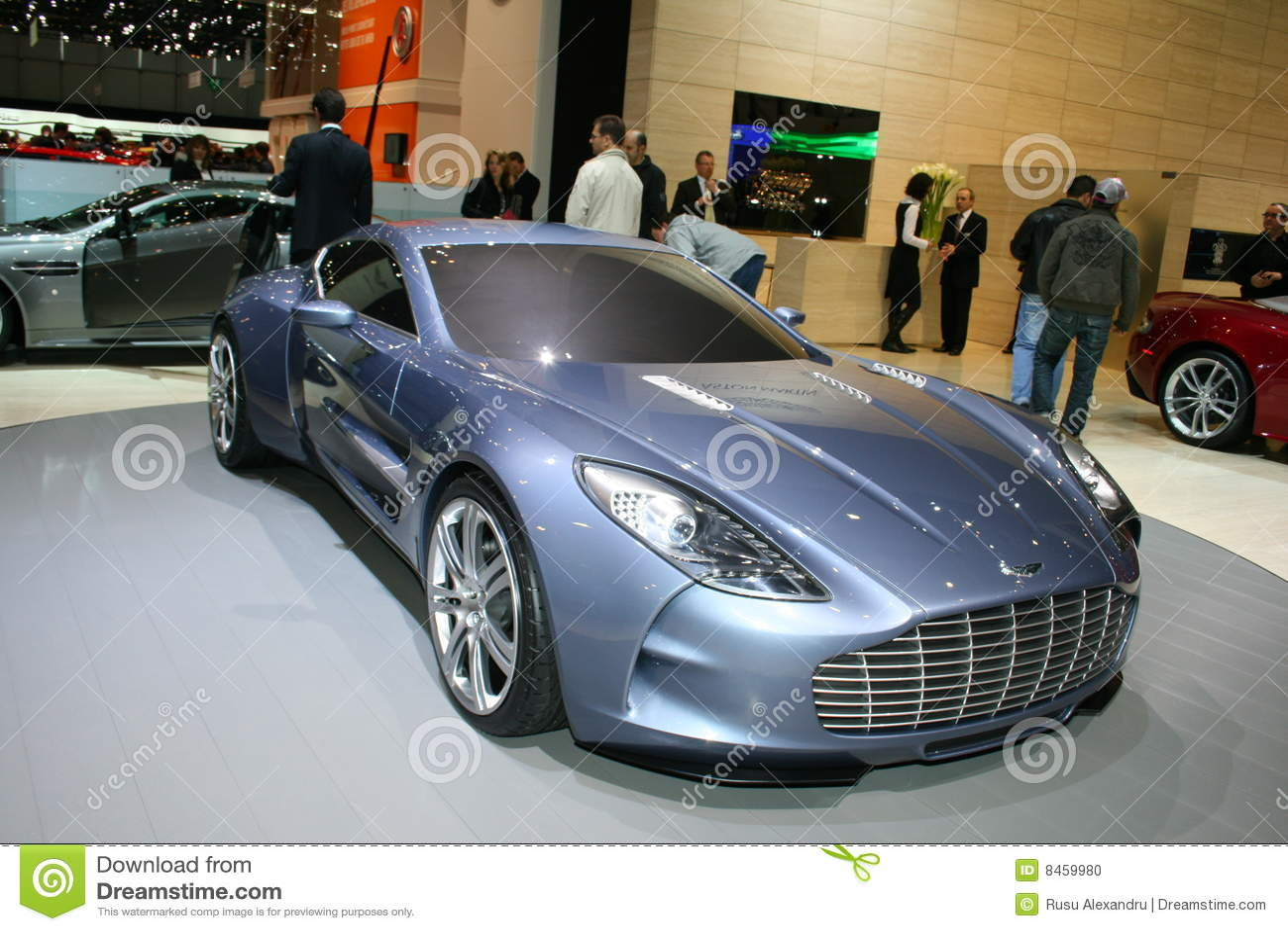Aston 2009 geneva martin