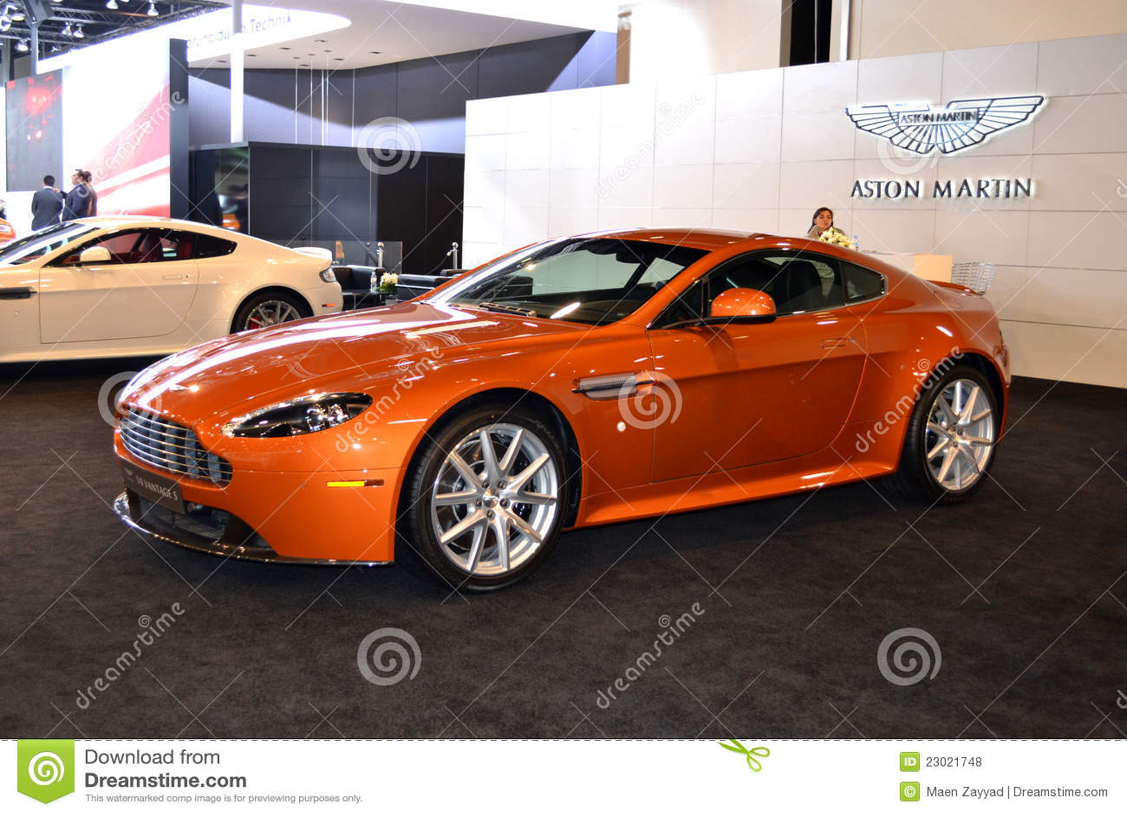 Download Aston Martin editorial stock photo. Image of exhibition - 23021748