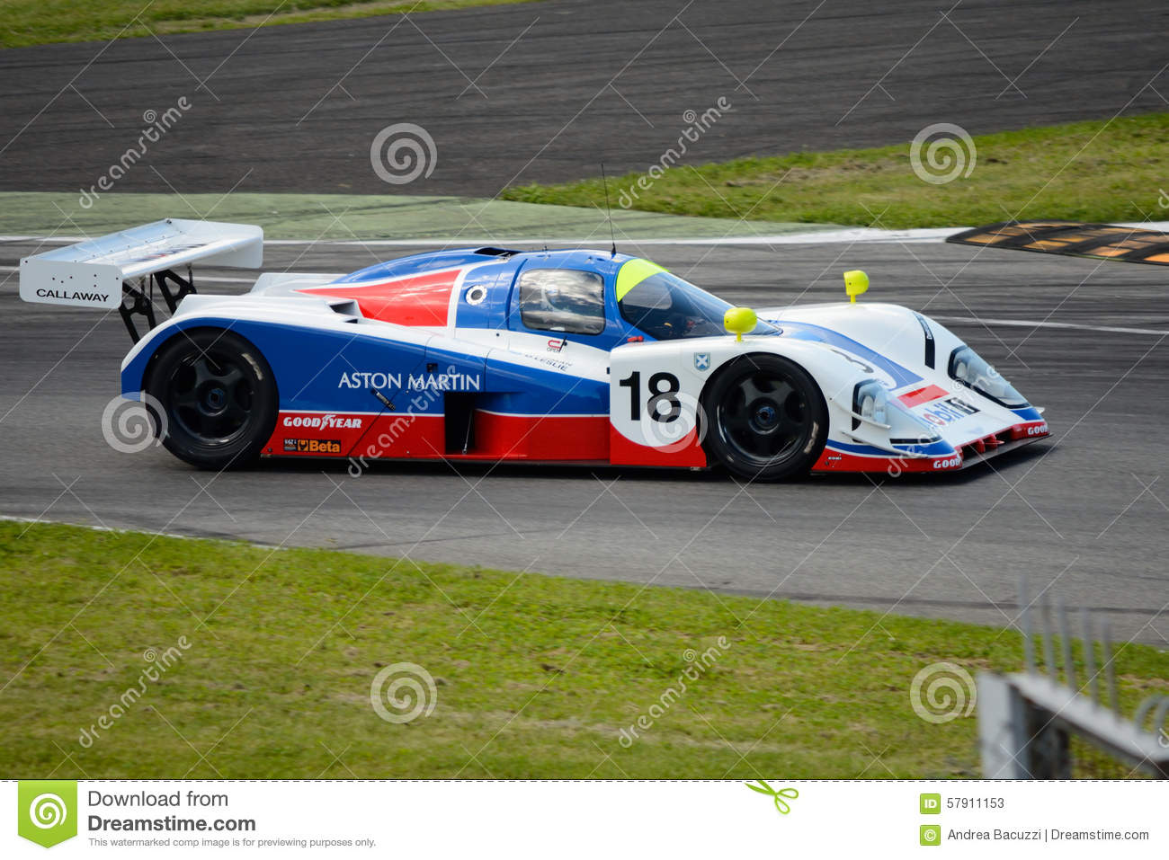 1989 aston martin amr1 group c prototype at monza in 2015 editorial stock photo image 57911153. Black Bedroom Furniture Sets. Home Design Ideas