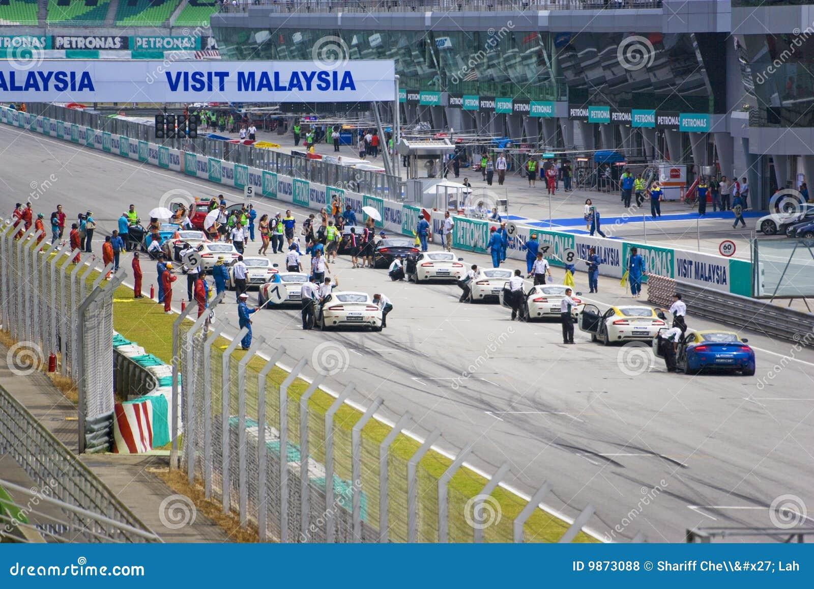Aston Martin Azië het Ras van de Kop
