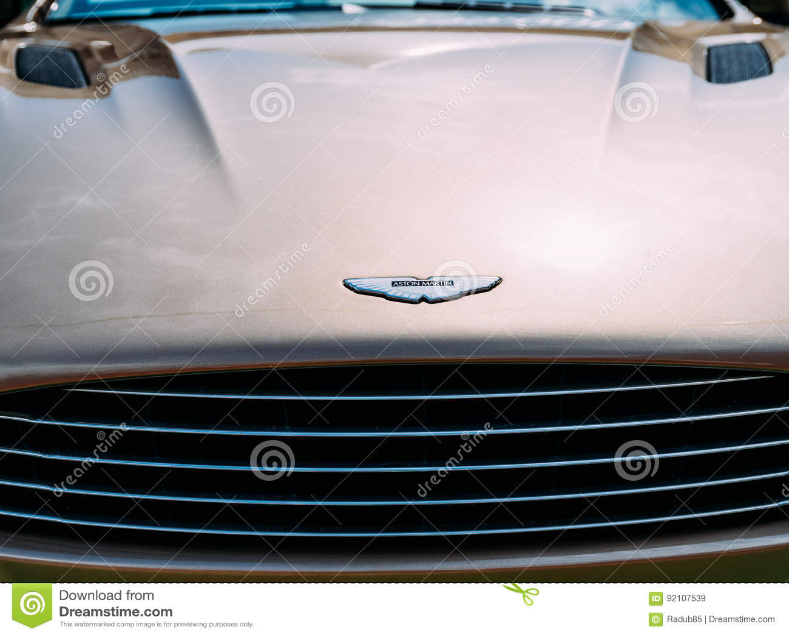 Aston Martin Car Editorial Stock Image Image Of Concept 92107539