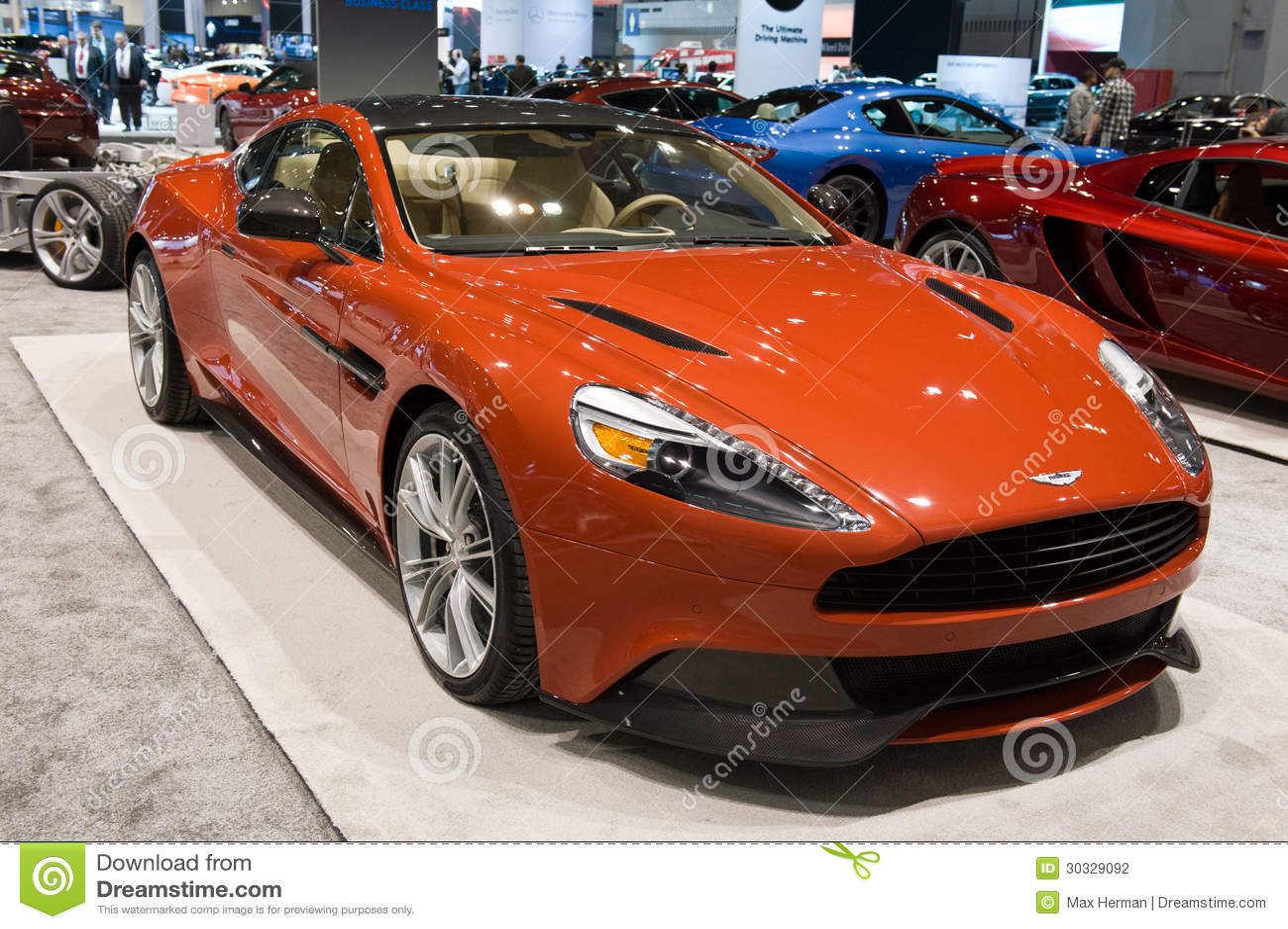 Aston Martin At The Chicago Auto Show Editorial Photography Image - Aston martin chicago
