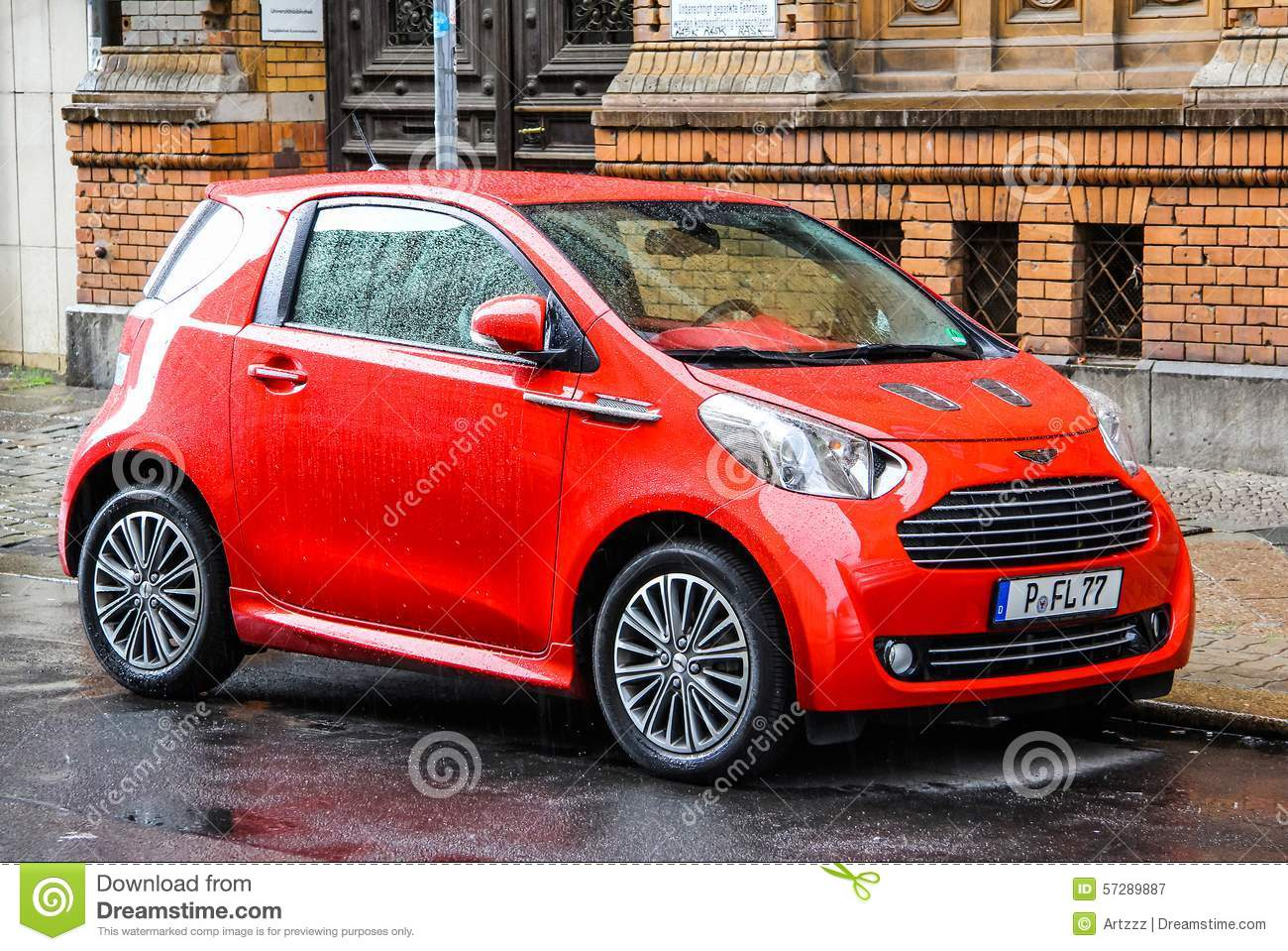 Download Aston Martin Cygnet Editorial Photography. Image Of Clone    57289887