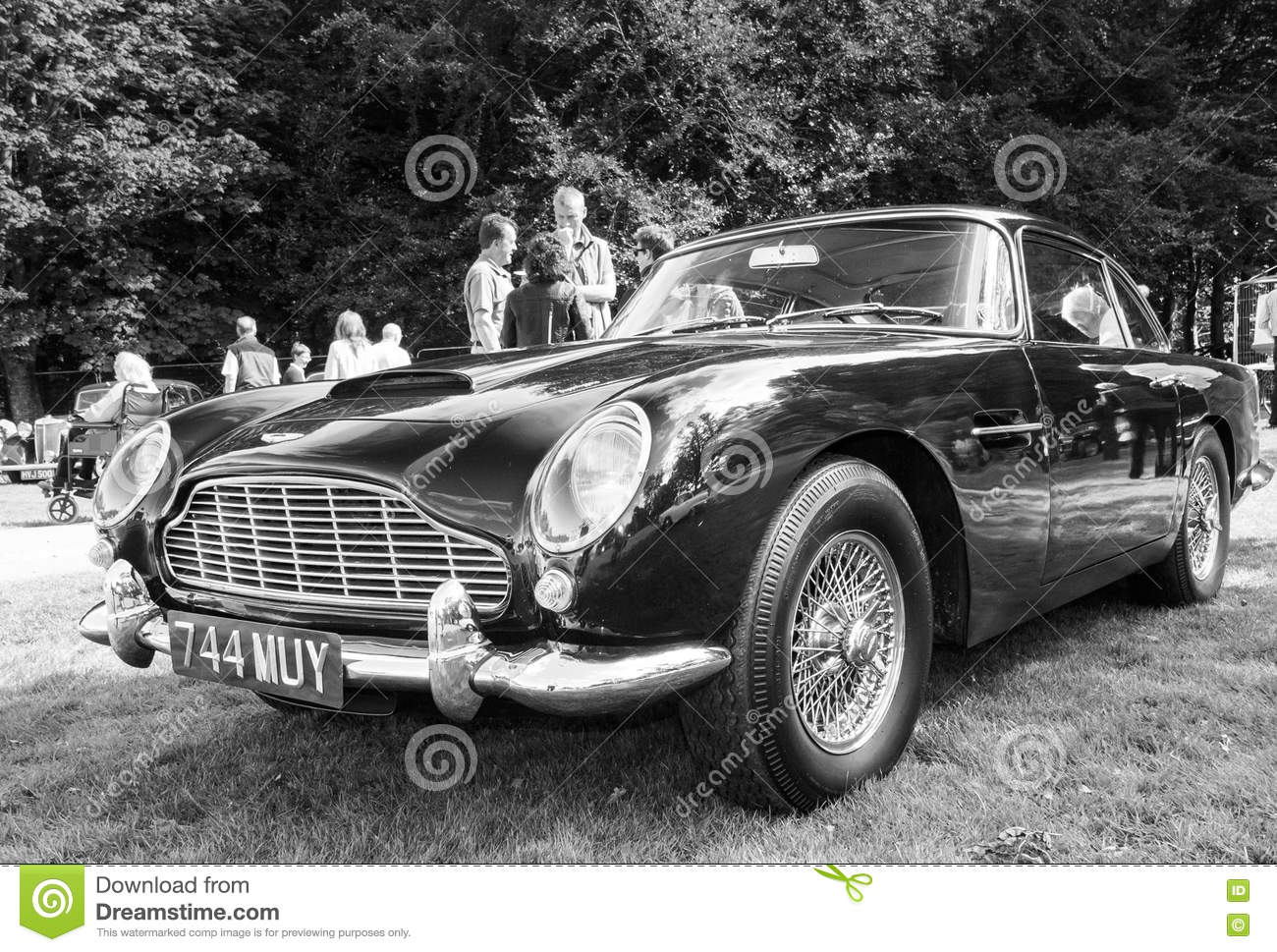 Aston Martin Db4 Editorial Photography Image Of Classic 75814027