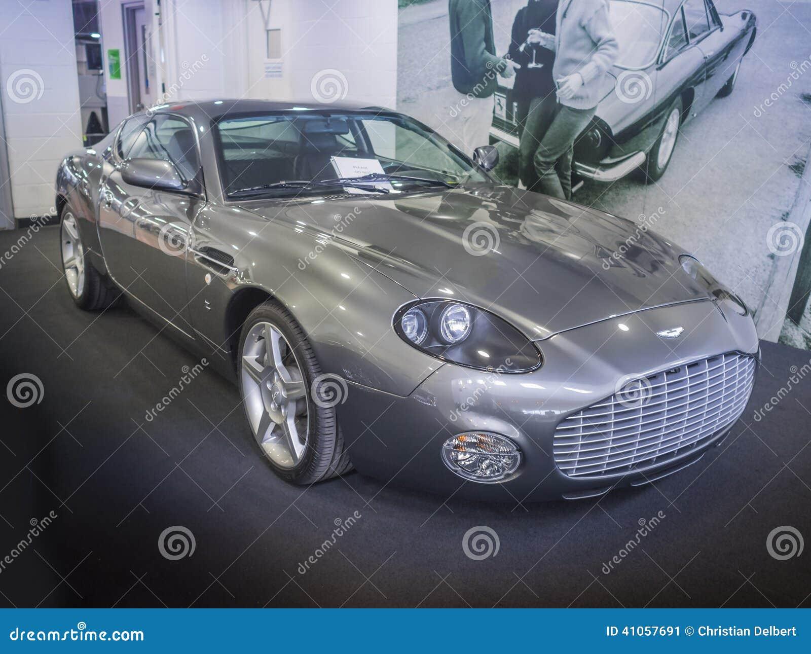 Aston Martin Db7 Zagato Coupe Sportscar Editorial Photo Image Of Silver British 41057691