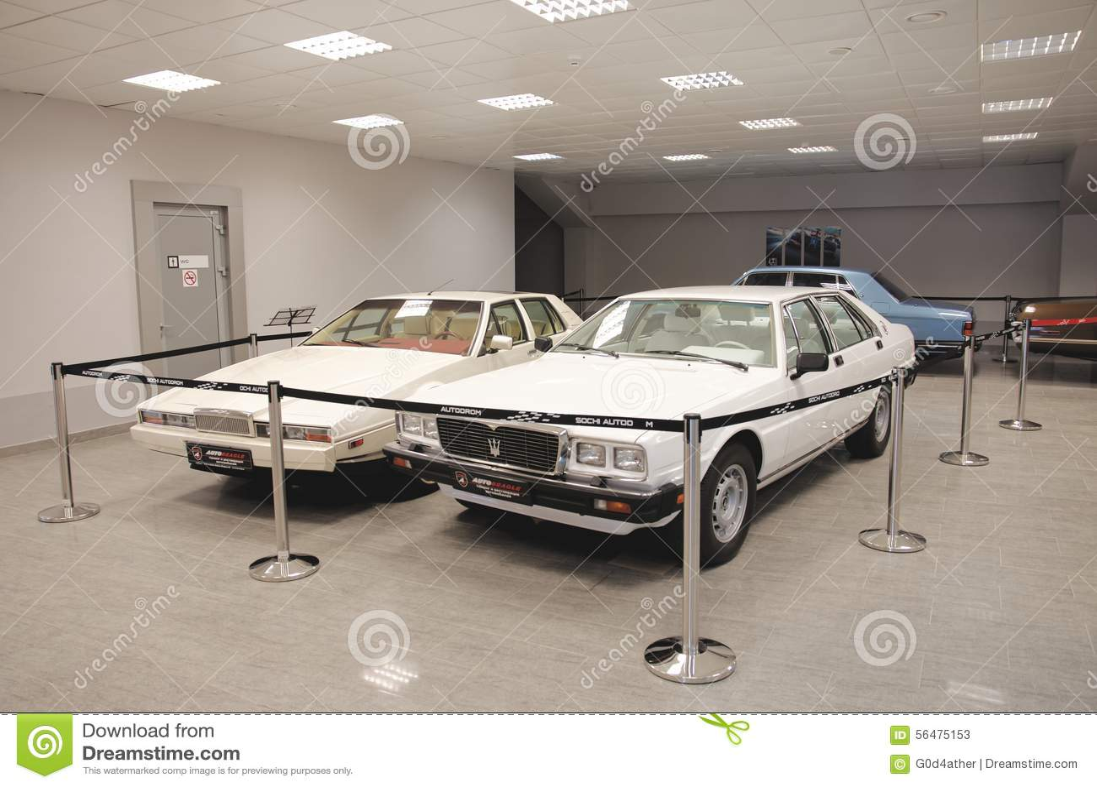 Aston Martin Lagonda et Maserati Quattroporte