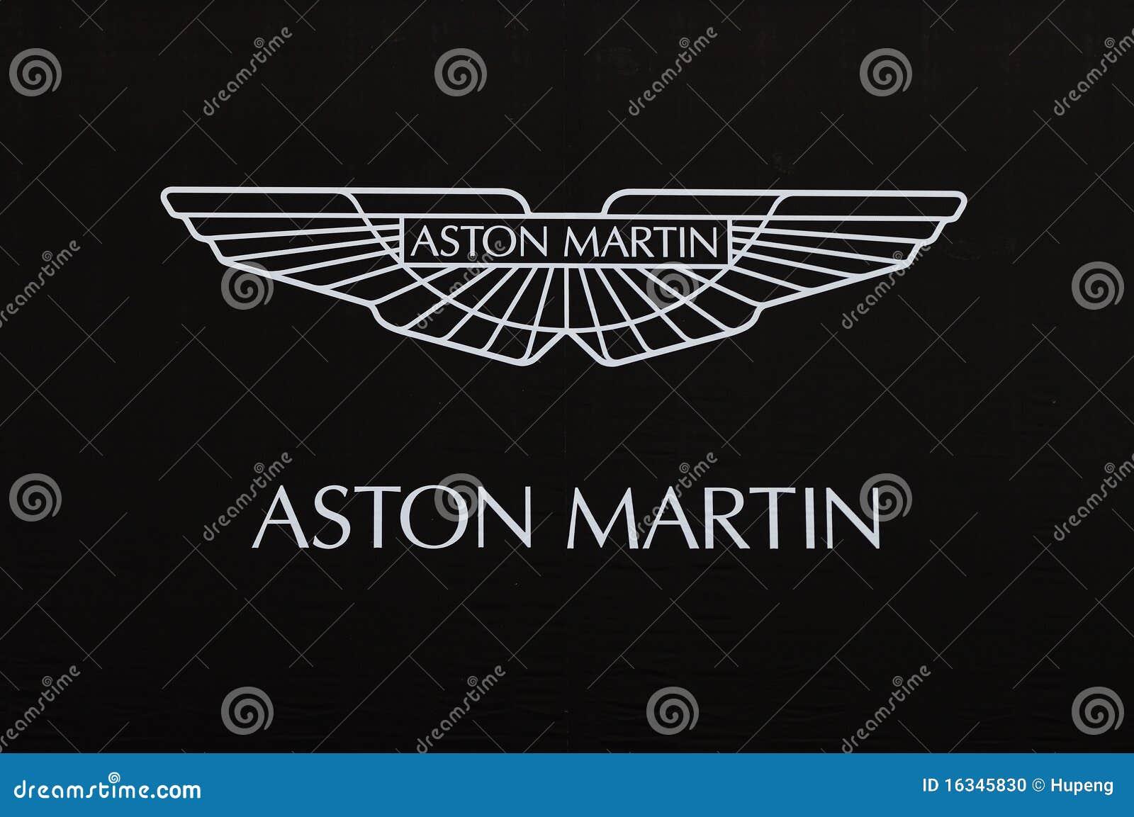 Aston Martin Used >> Aston Martin Logo Editorial Image - Image: 16345830