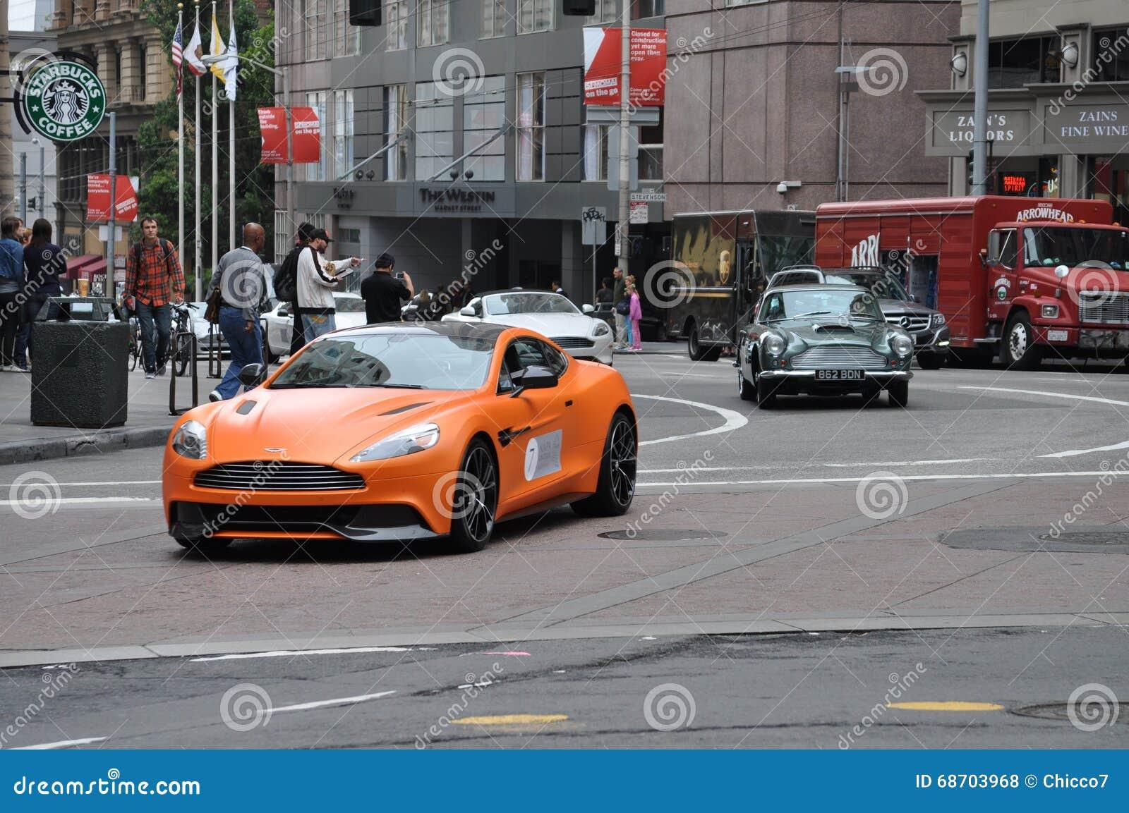 Aston Martin Parade In San Francisco Editorial Stock Photo ... | aston martin san francisco
