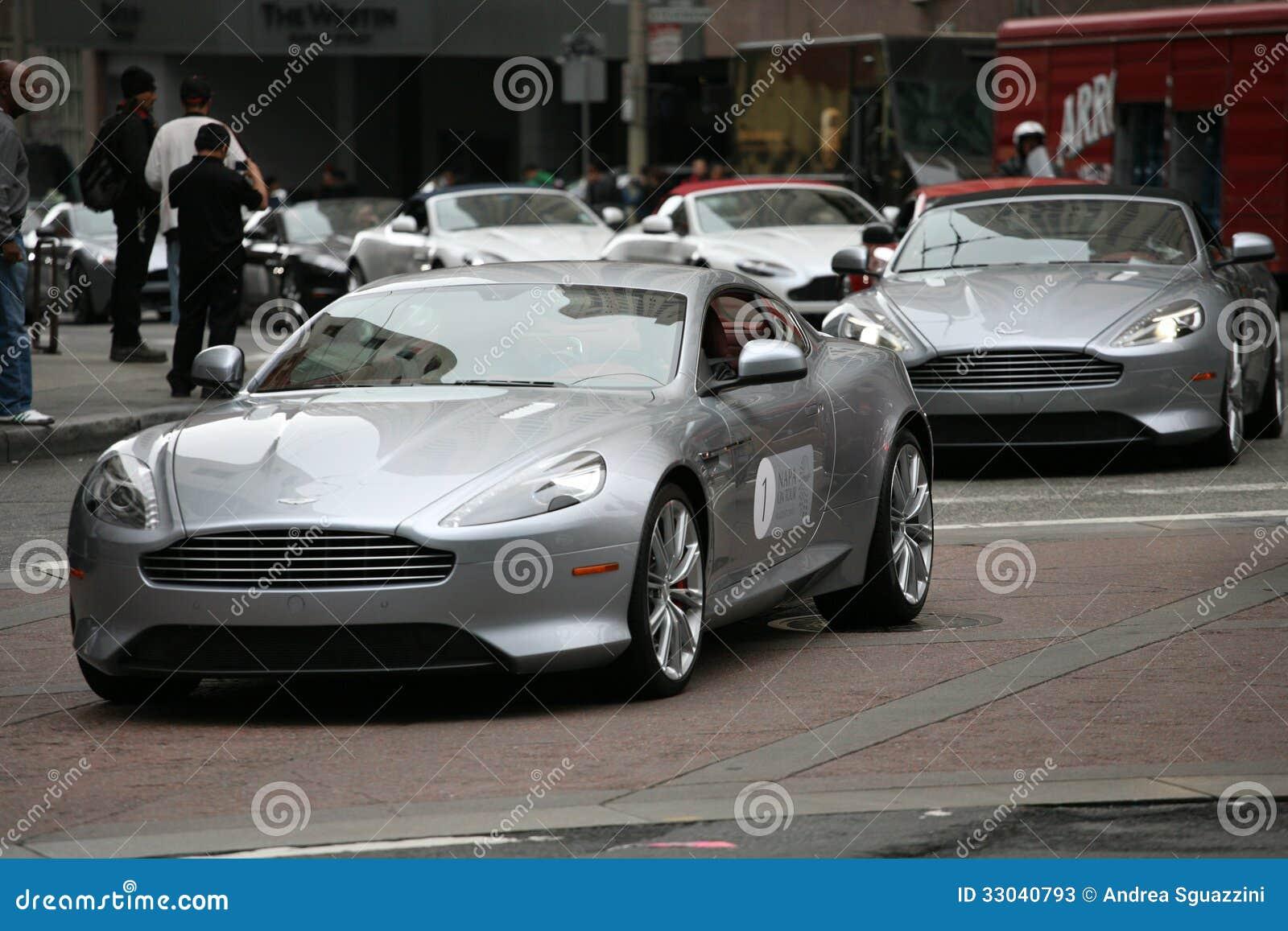 Aston Martin Rally In San Francisco Editorial Stock Photo ... | aston martin san francisco