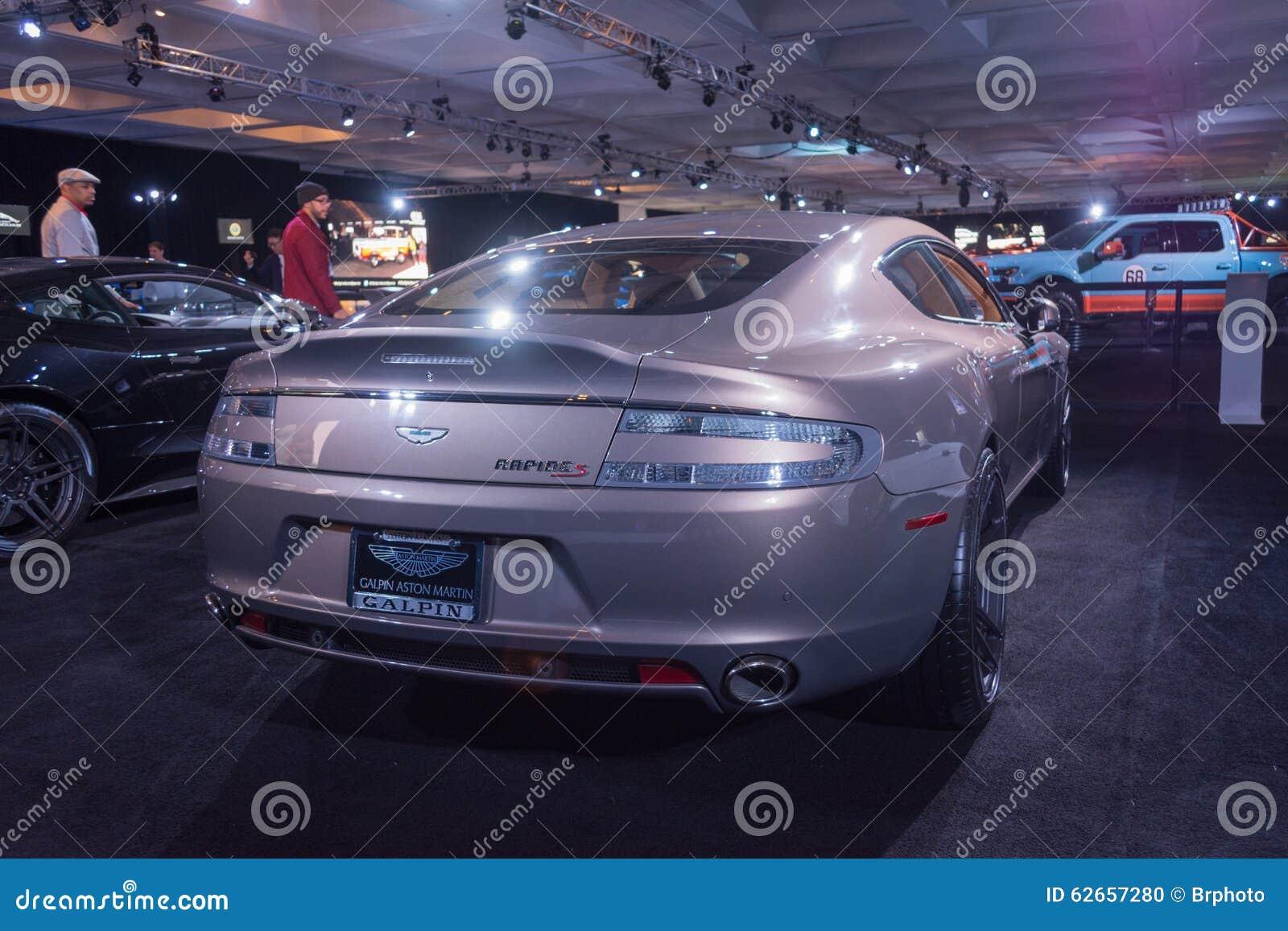 Aston Martin Rapide S Editorial Image Image Of Innovation 62657280