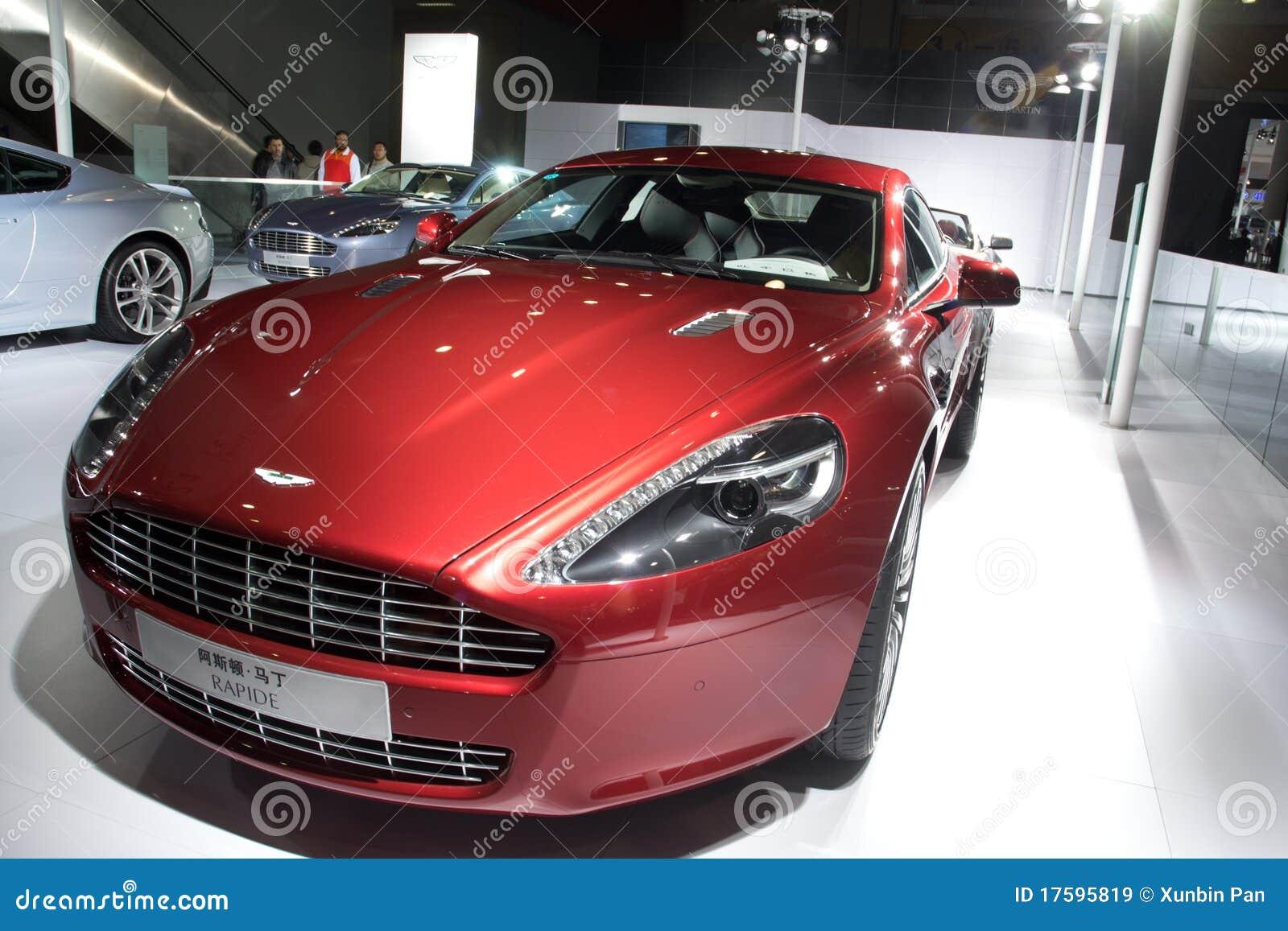 Aston Martin Rapide Sport Car Editorial Stock Image Image Of