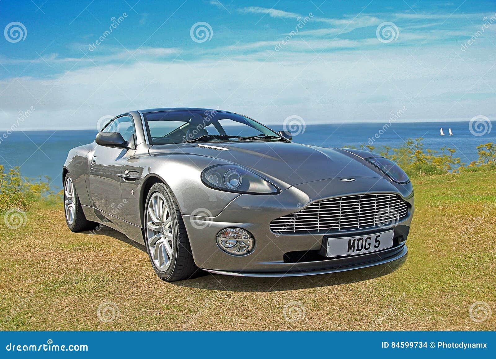 Aston Martin Vanquish Editorial Stock Image Image Of Motors 84599734