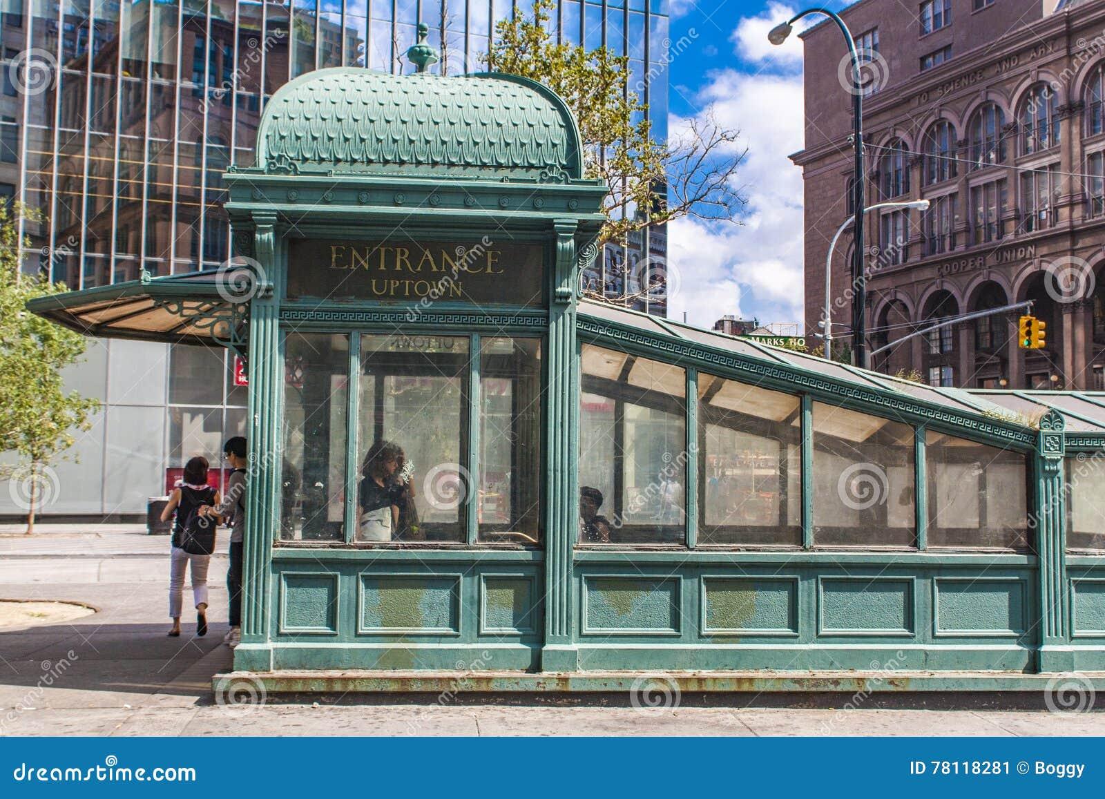 Astor miejsca stacja metru w Nowy Jork