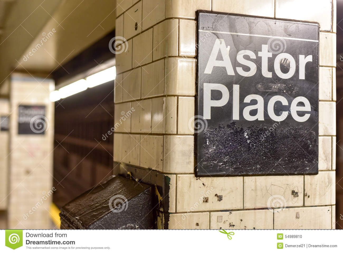 Astor Place Subway Station - New York City