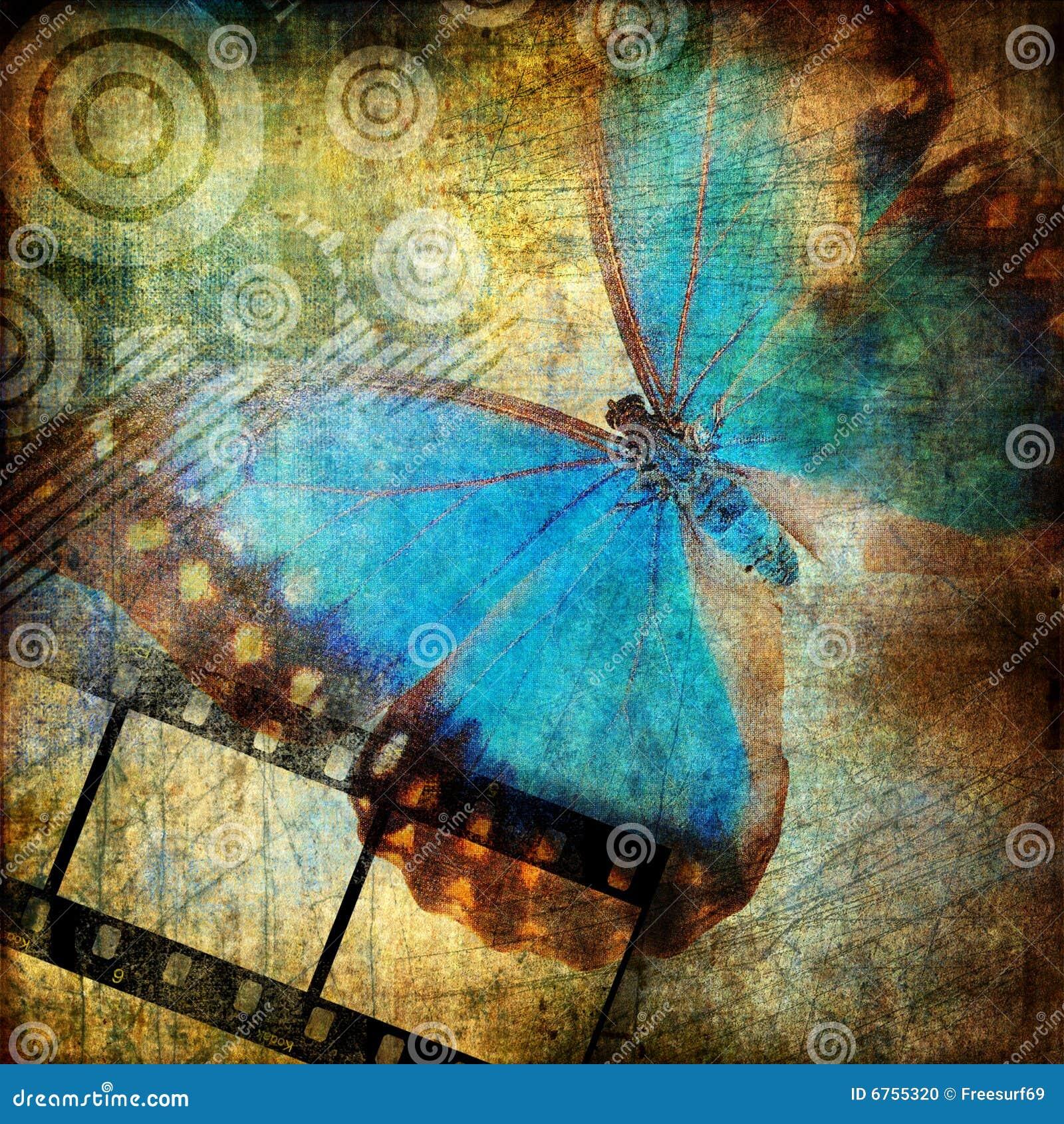 Astrazione con la farfalla