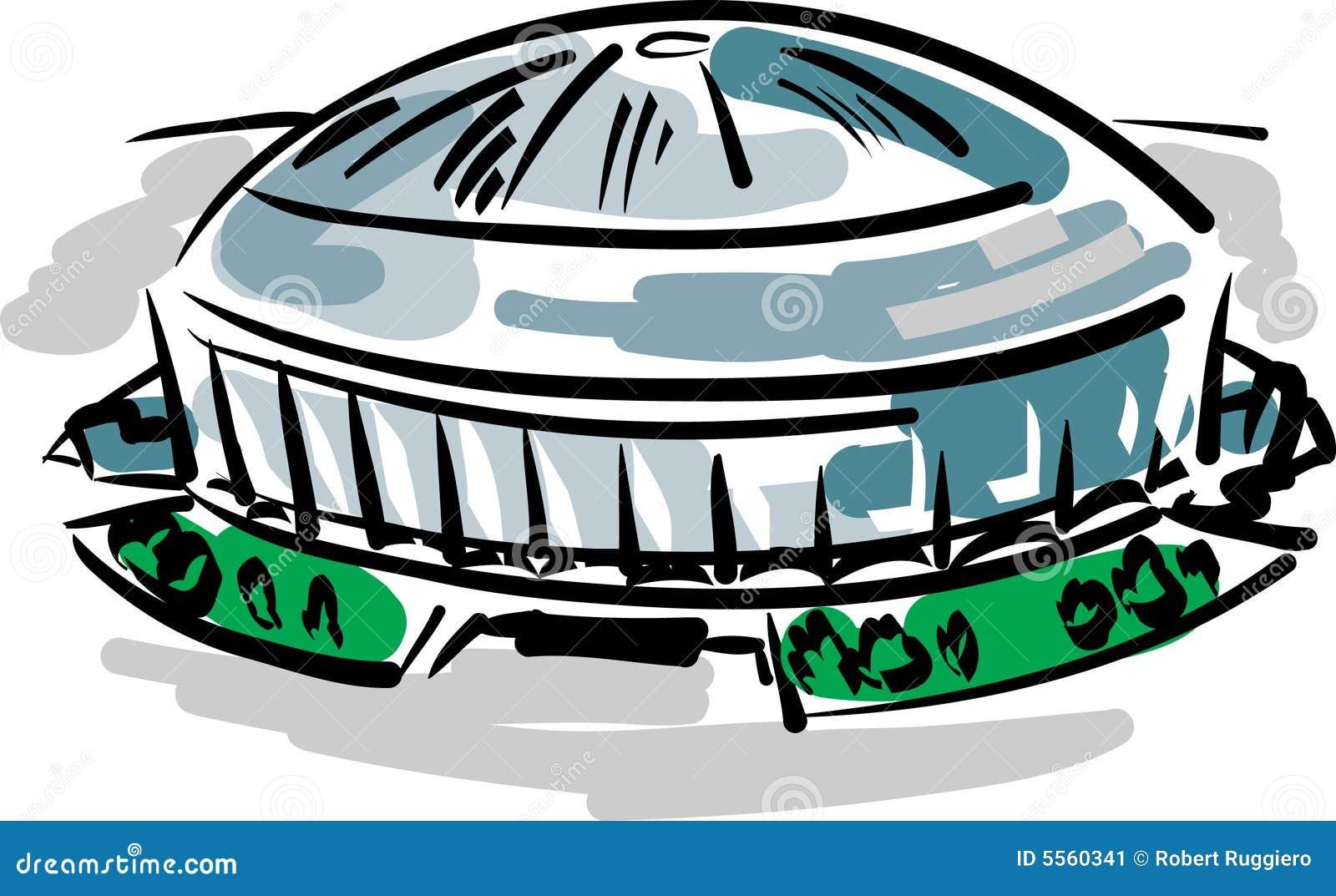 Astrodome Stock Image - Image: 5560341
