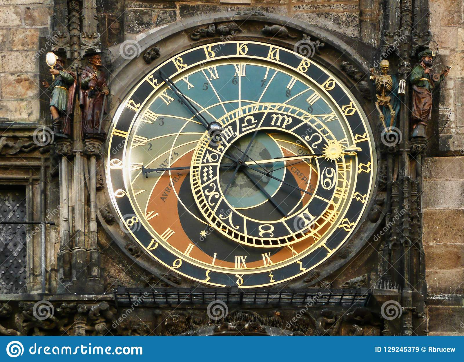 Astrological Clock Tower, Old Tower Square, Prague, Czech Republic