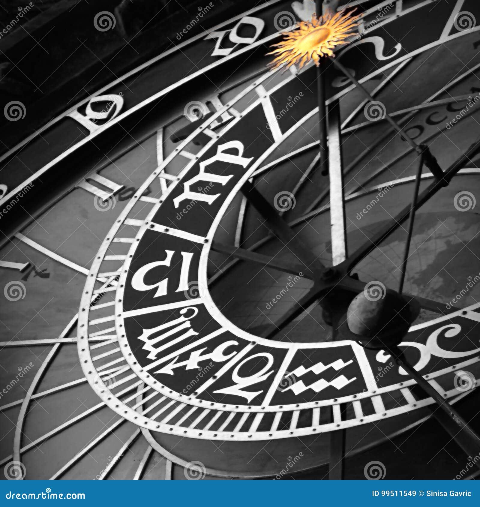 Astrologiczny zegarowy Prague