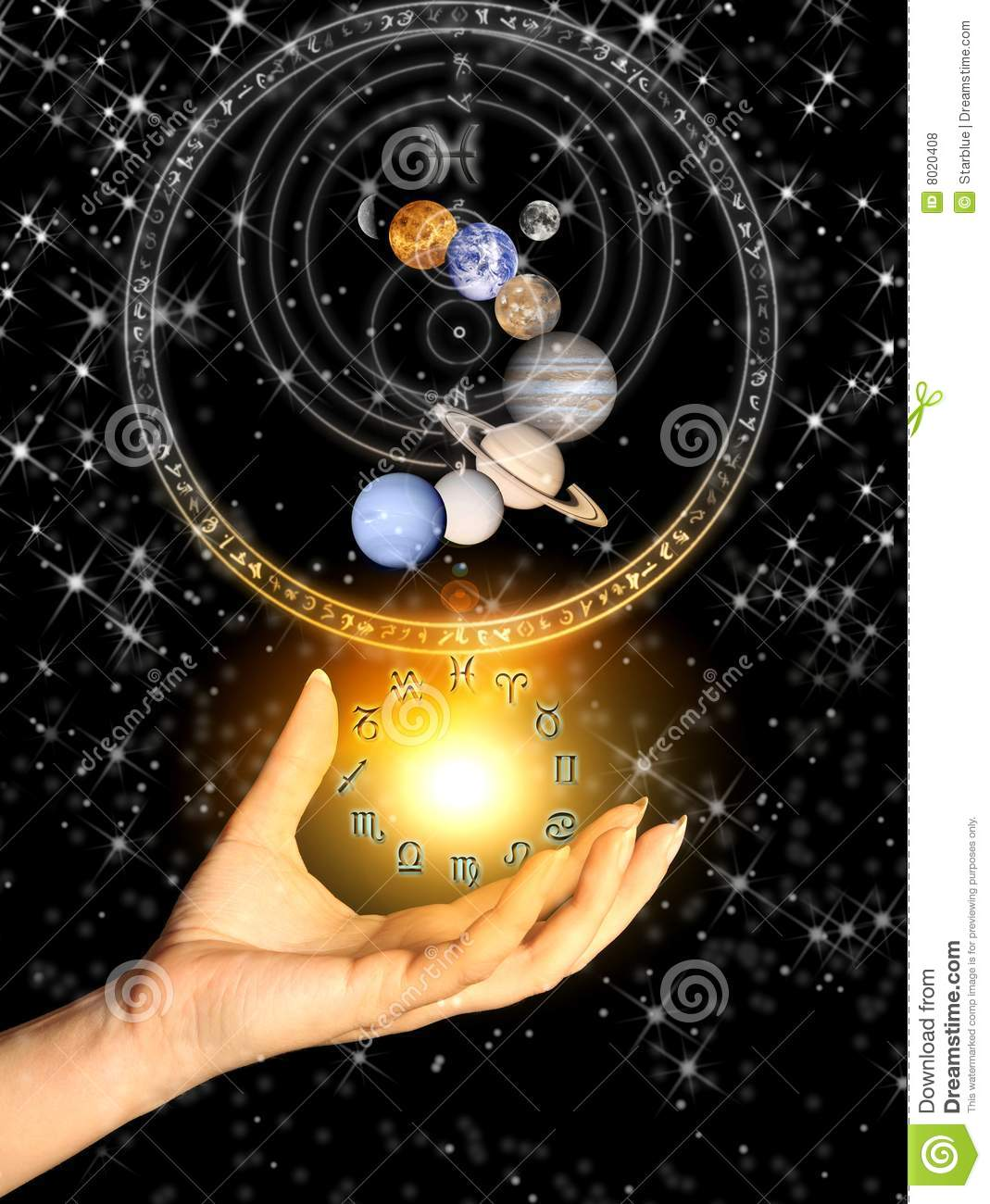 Astrology Royalty Free Stock Photos Image 8020408