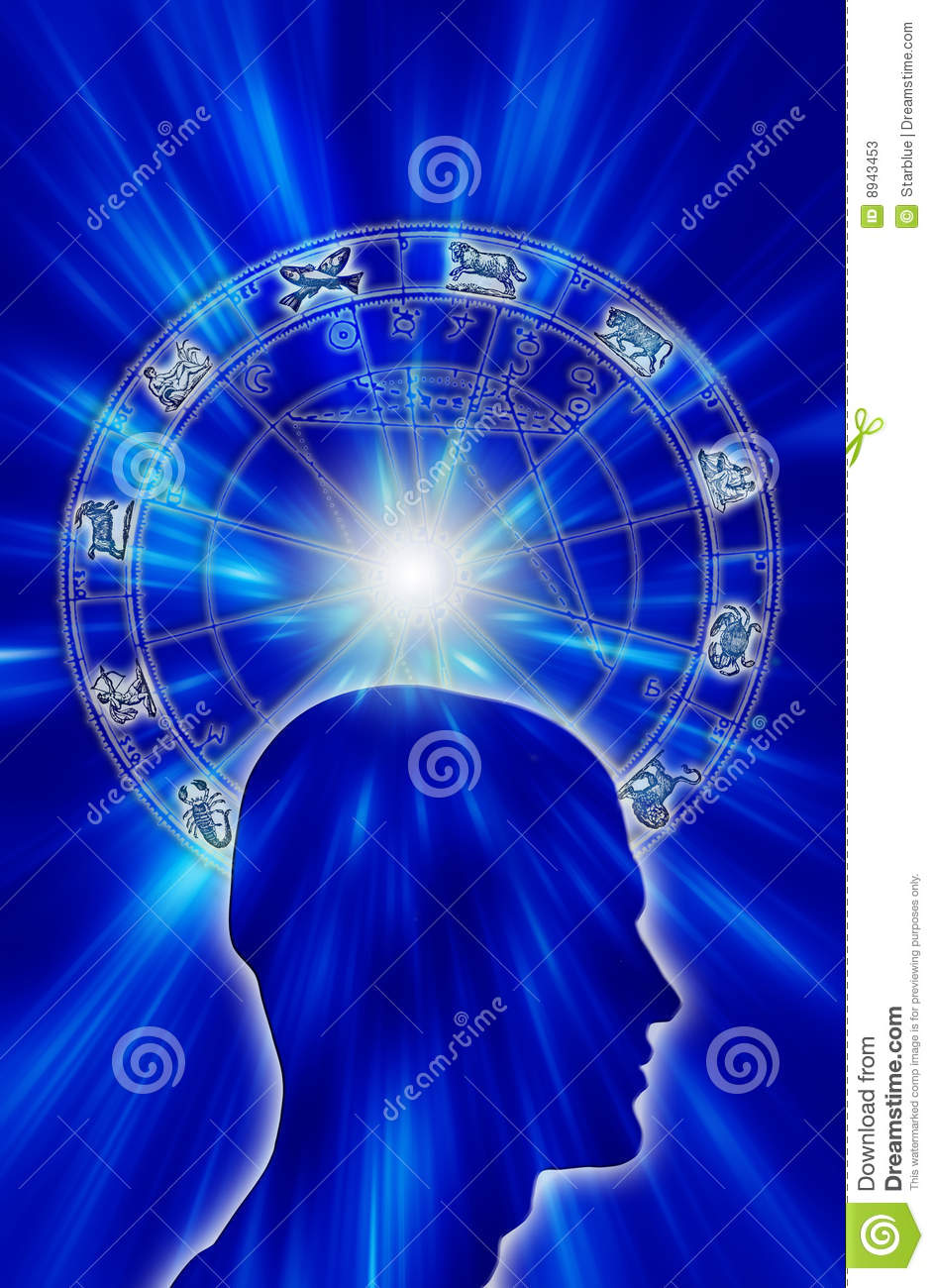 Astrology stock illustration  Illustration of soul, magical
