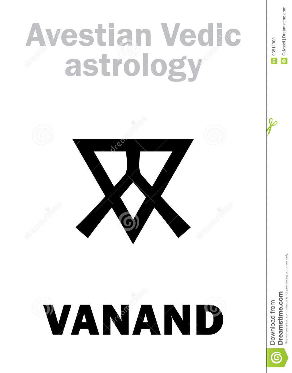 Astrology: astral planet VANAND