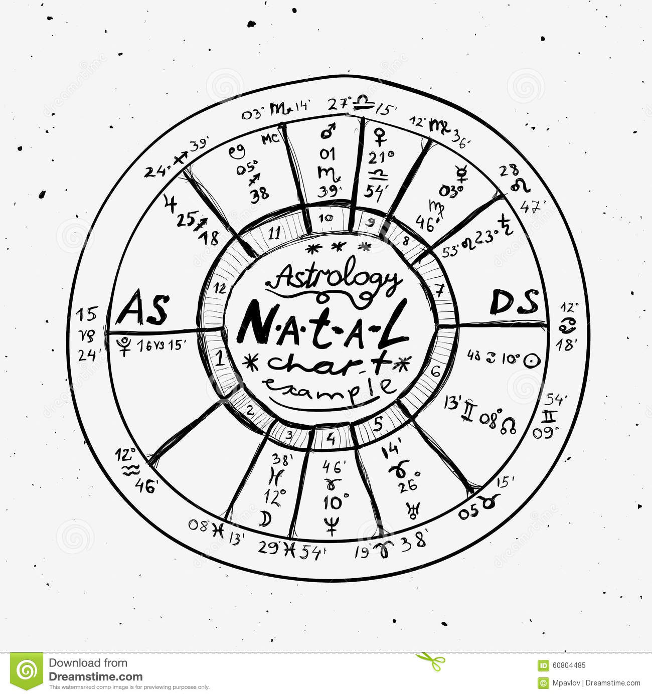 Astrology hand drawn background stock vector illustration of astrology hand drawn background nvjuhfo Choice Image