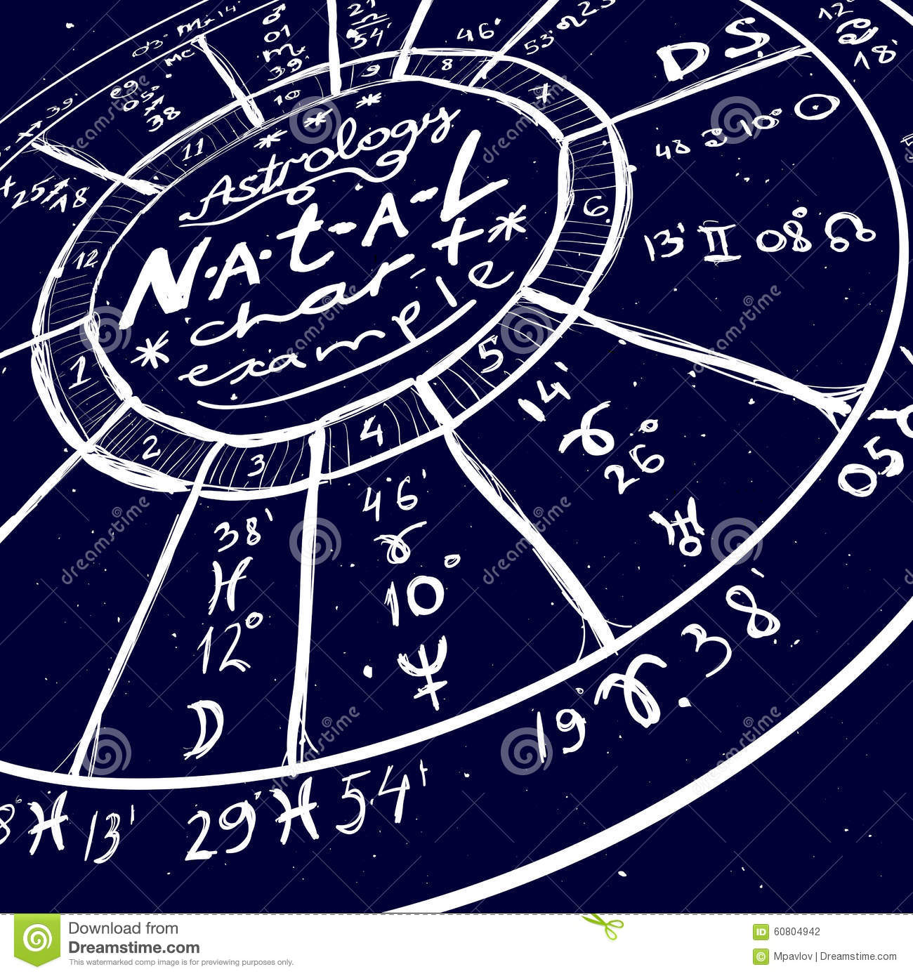 Astrology hand drawn background stock vector illustration of royalty free vector nvjuhfo Image collections