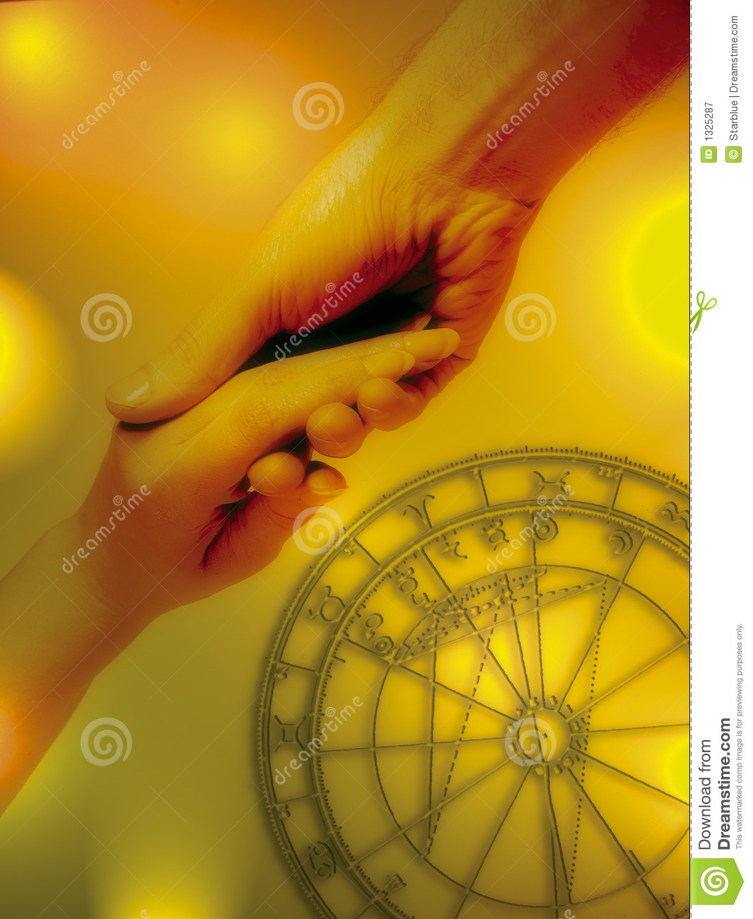 Astrology And Love Stock Image Image Of Magical Loving 1325287