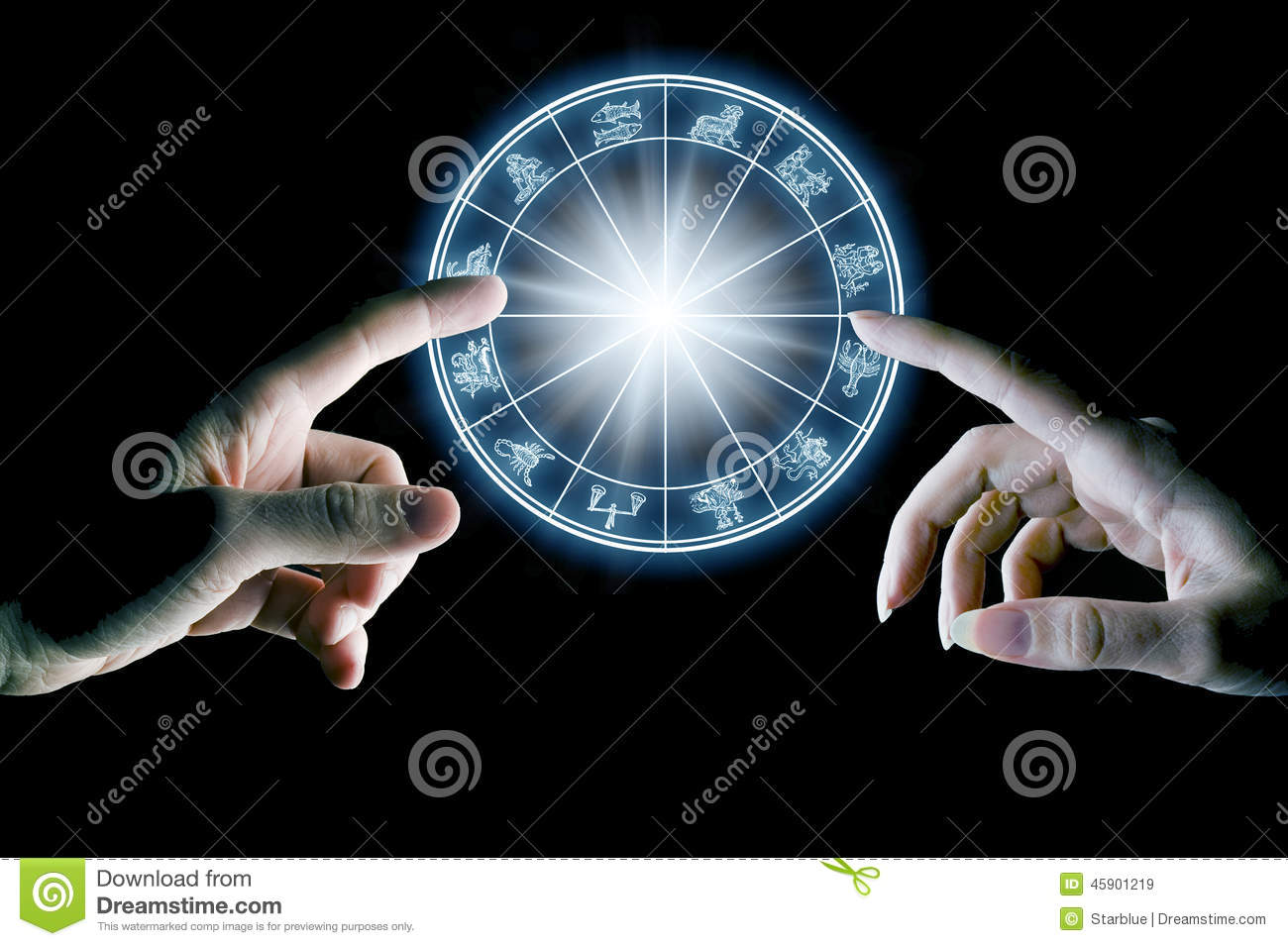 astrology and love stock photo