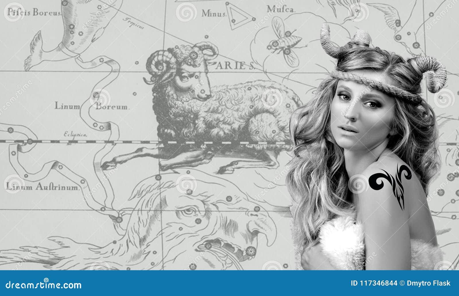 Astrology Mulher Aries Zodiac Sign