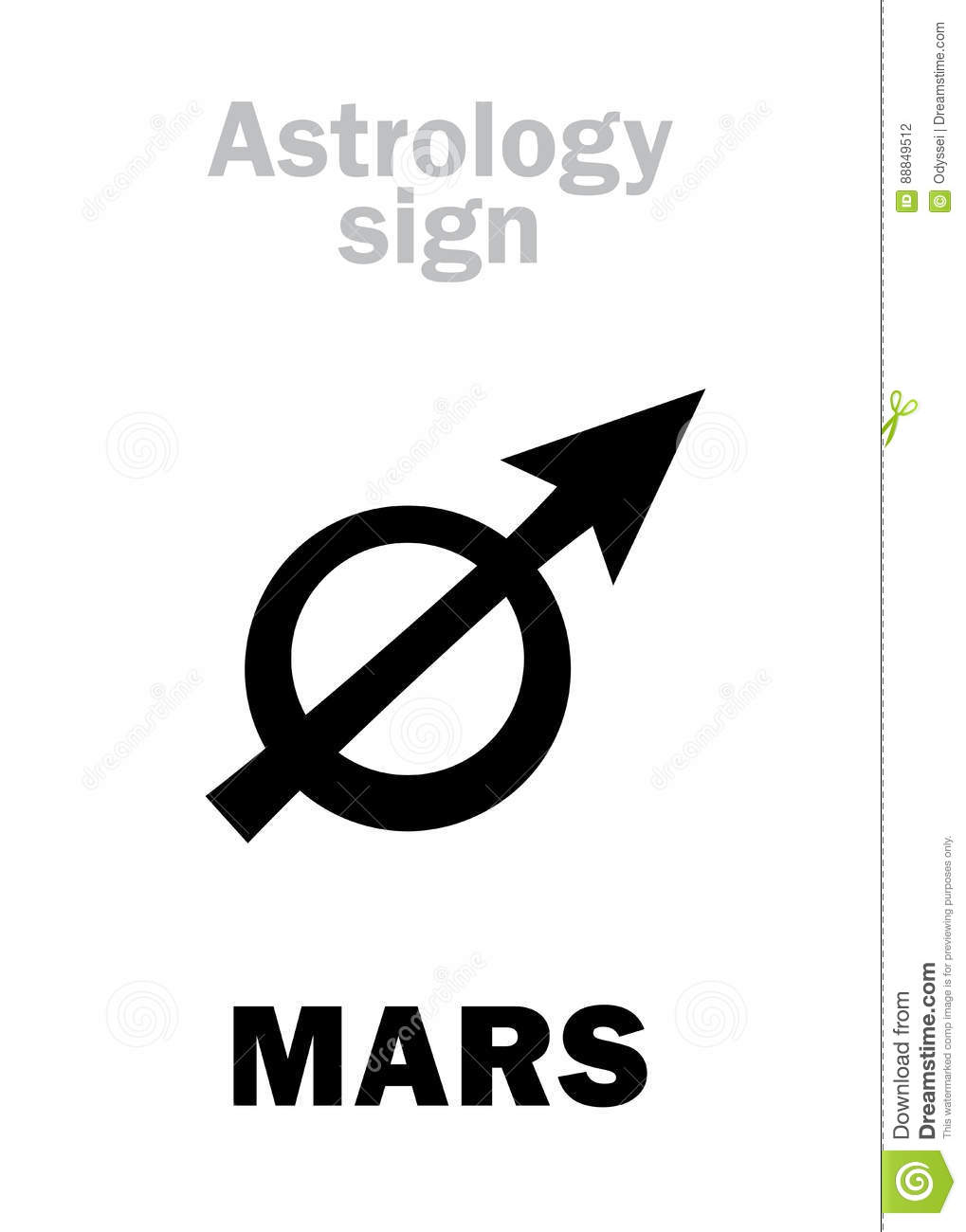 planet mars sign - photo #20
