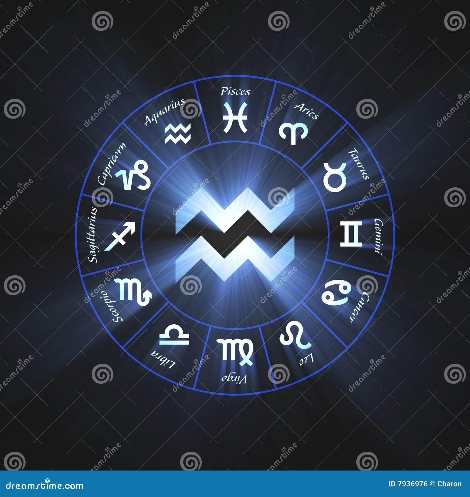 Aquarius Symbol Astrology symbol aquarius flare