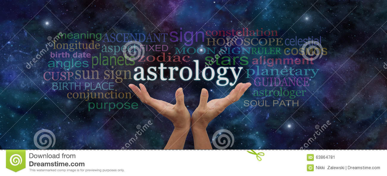 Astrology Website Header stock illustration  Illustration of