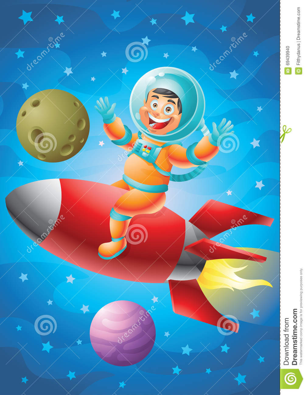 astronaut and spaceship - photo #43