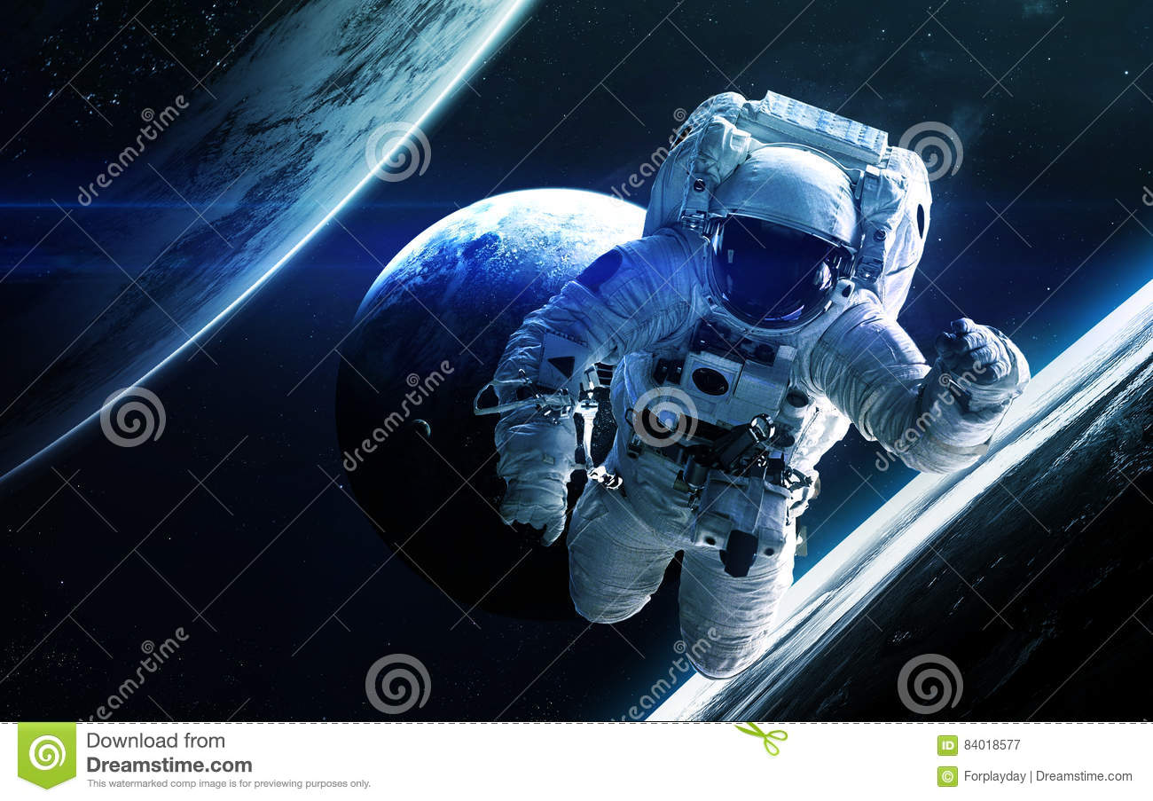 astronaut in deep space - photo #36