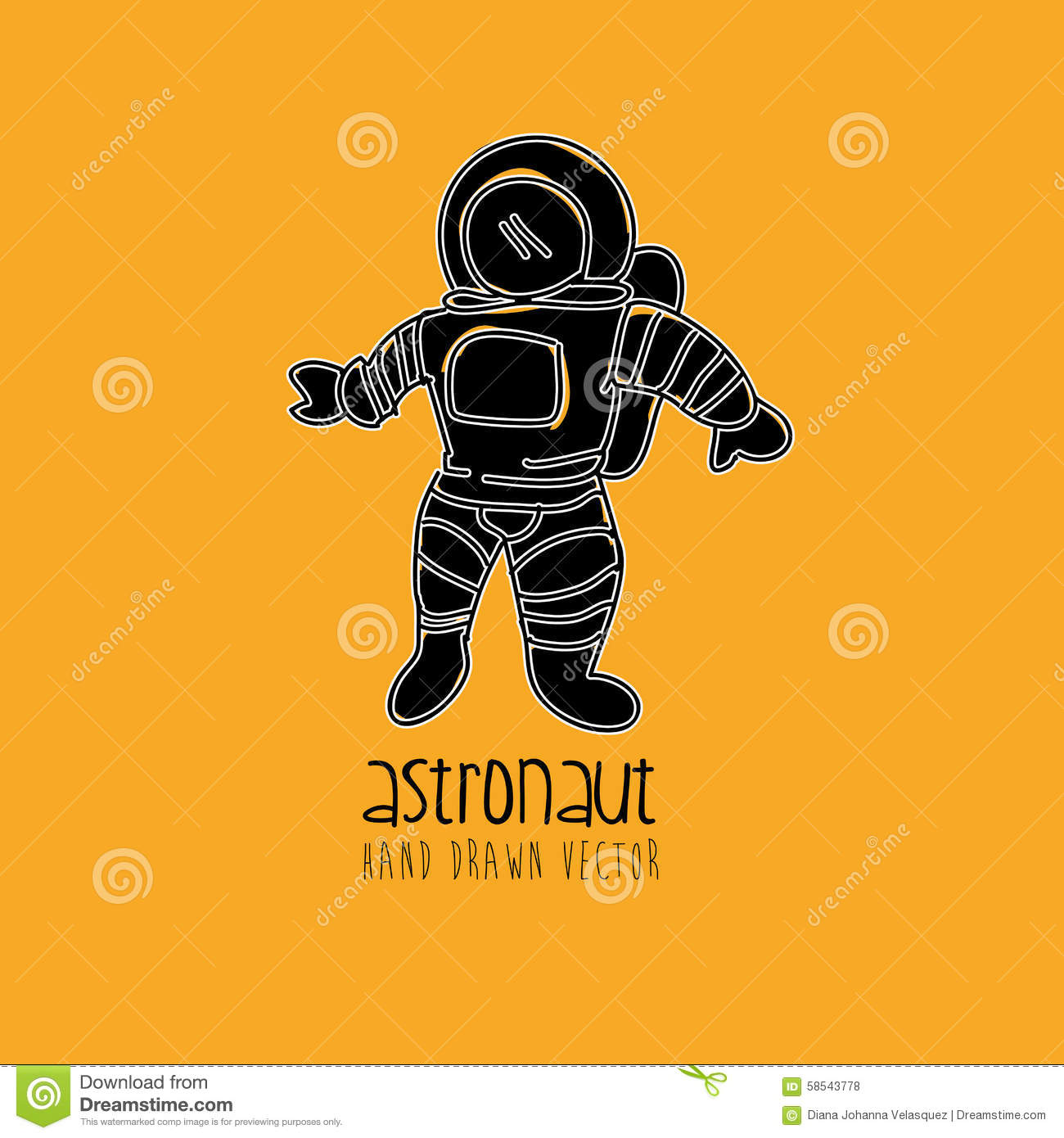 astronaut design - photo #44