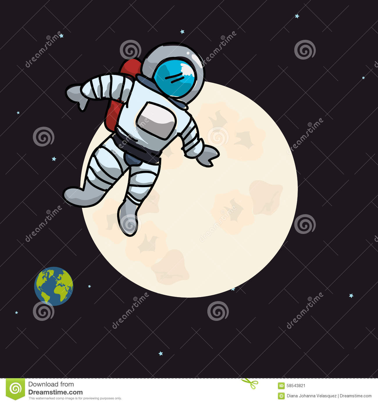 astronaut design - photo #21