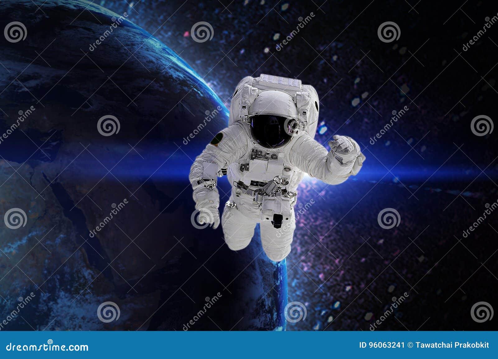 Astronaut Elementen van dit die beeld door NASA wordt geleverd