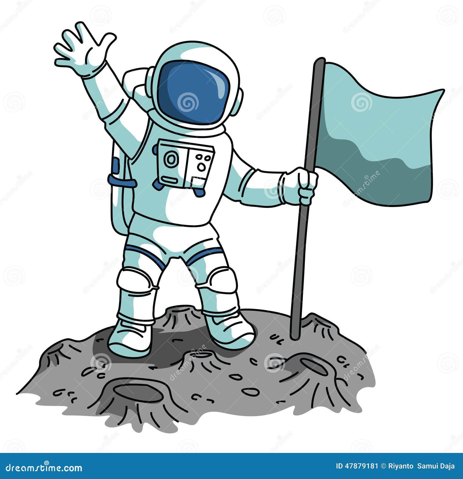 Astronaut Stock Vector - Image: 47879181